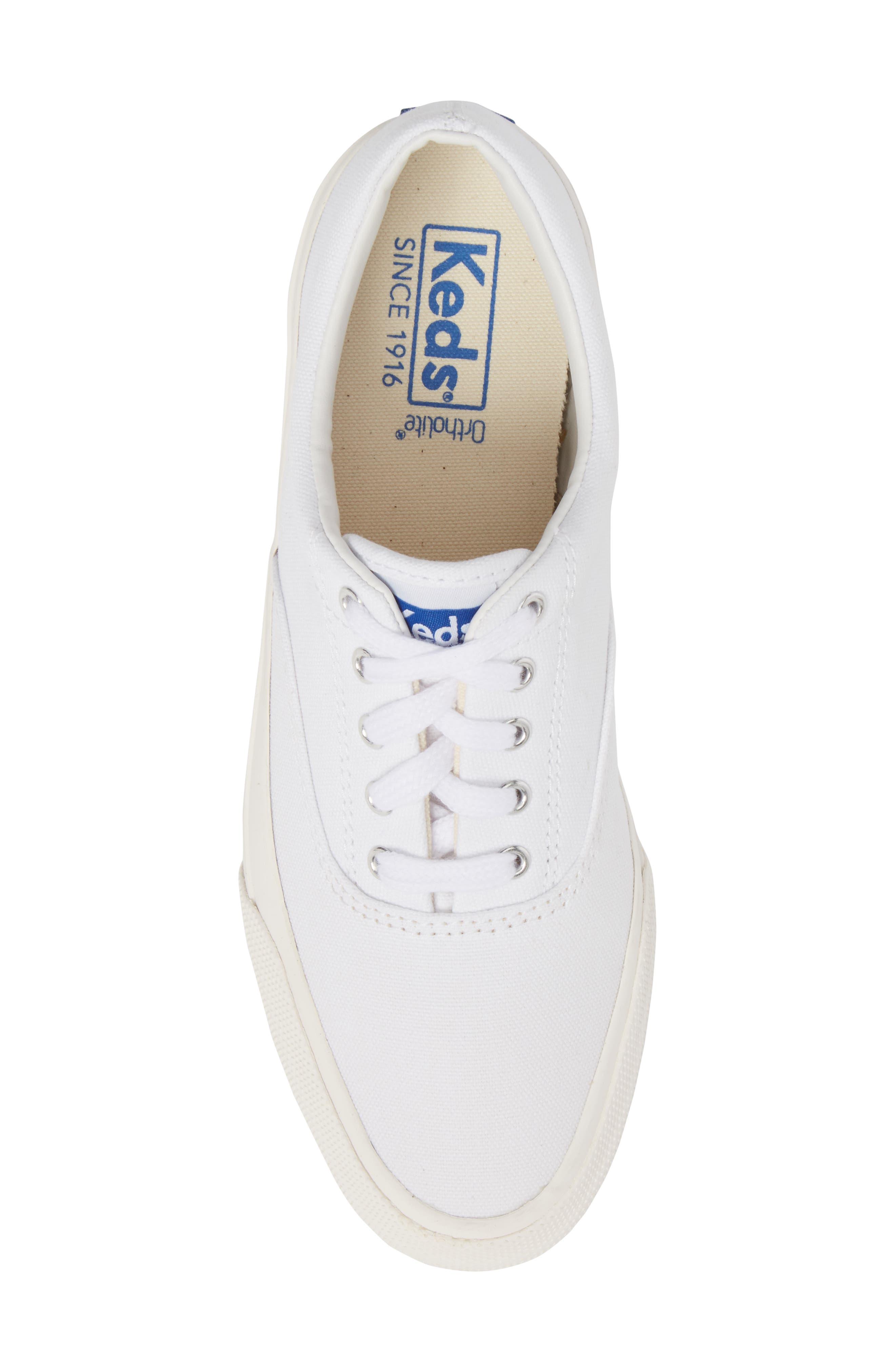 Anchor Sneaker,                             Alternate thumbnail 5, color,                             White