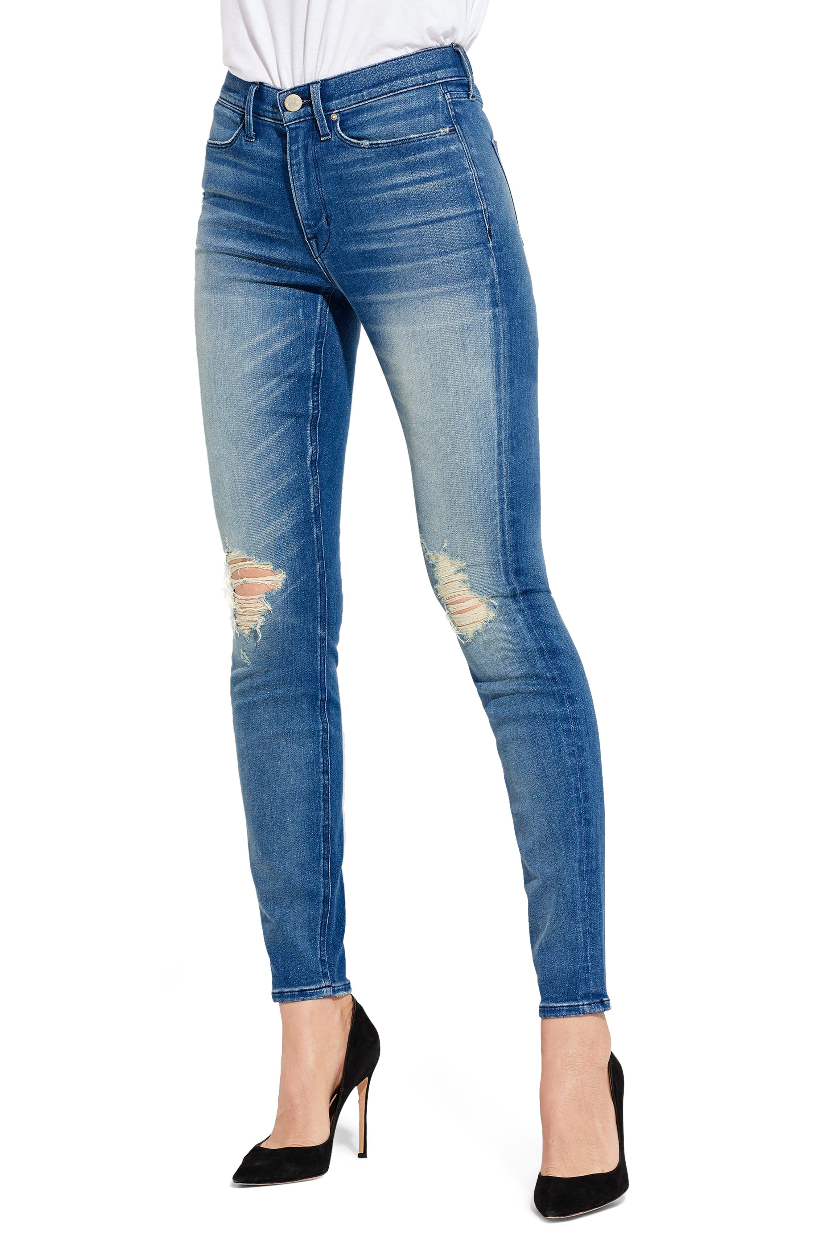 AYR The Skinny Ripped Jeans (Wild Hearts)