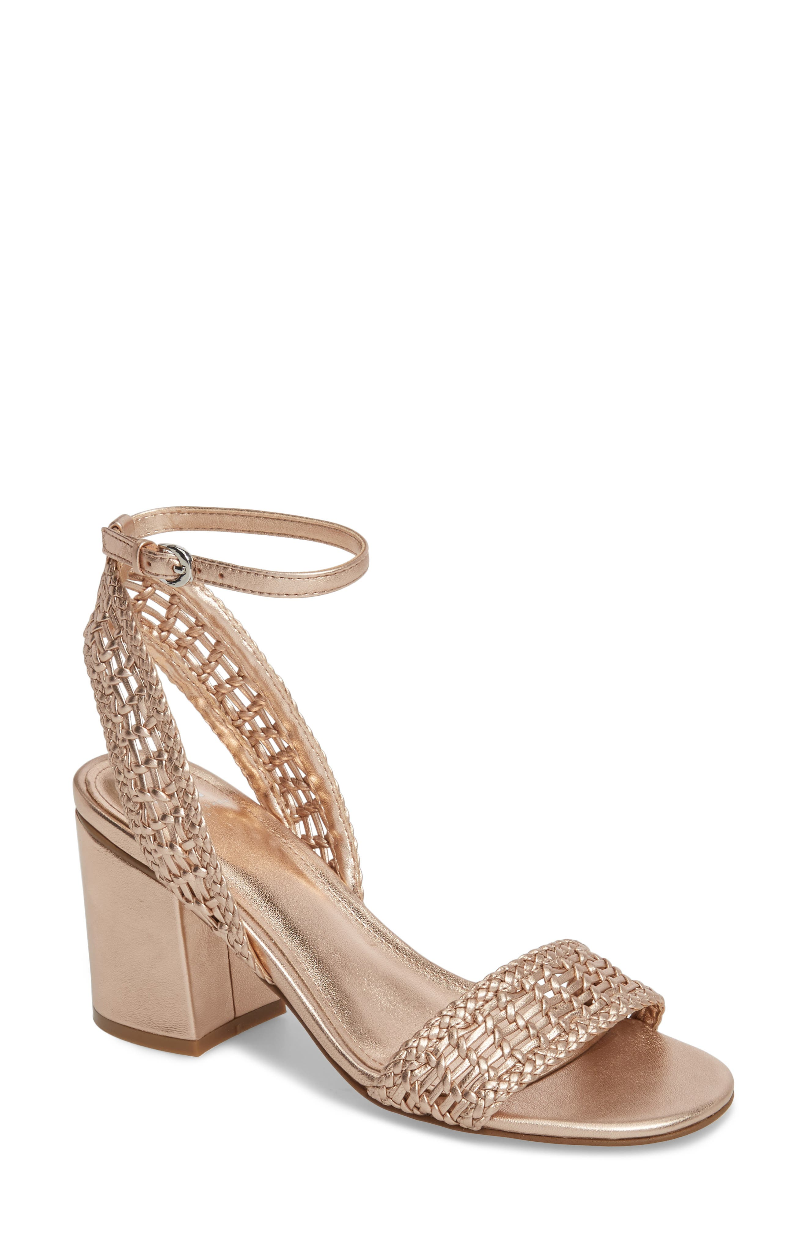 Alternate Image 1 Selected - Marc Fisher LTD Amere Ankle Strap Sandal (Women)