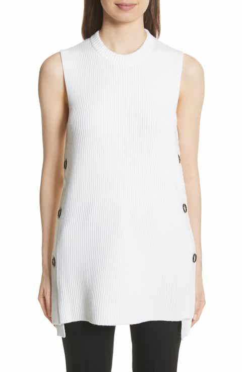 GREY Jason Wu Merino Wool Sleeveless Sweater
