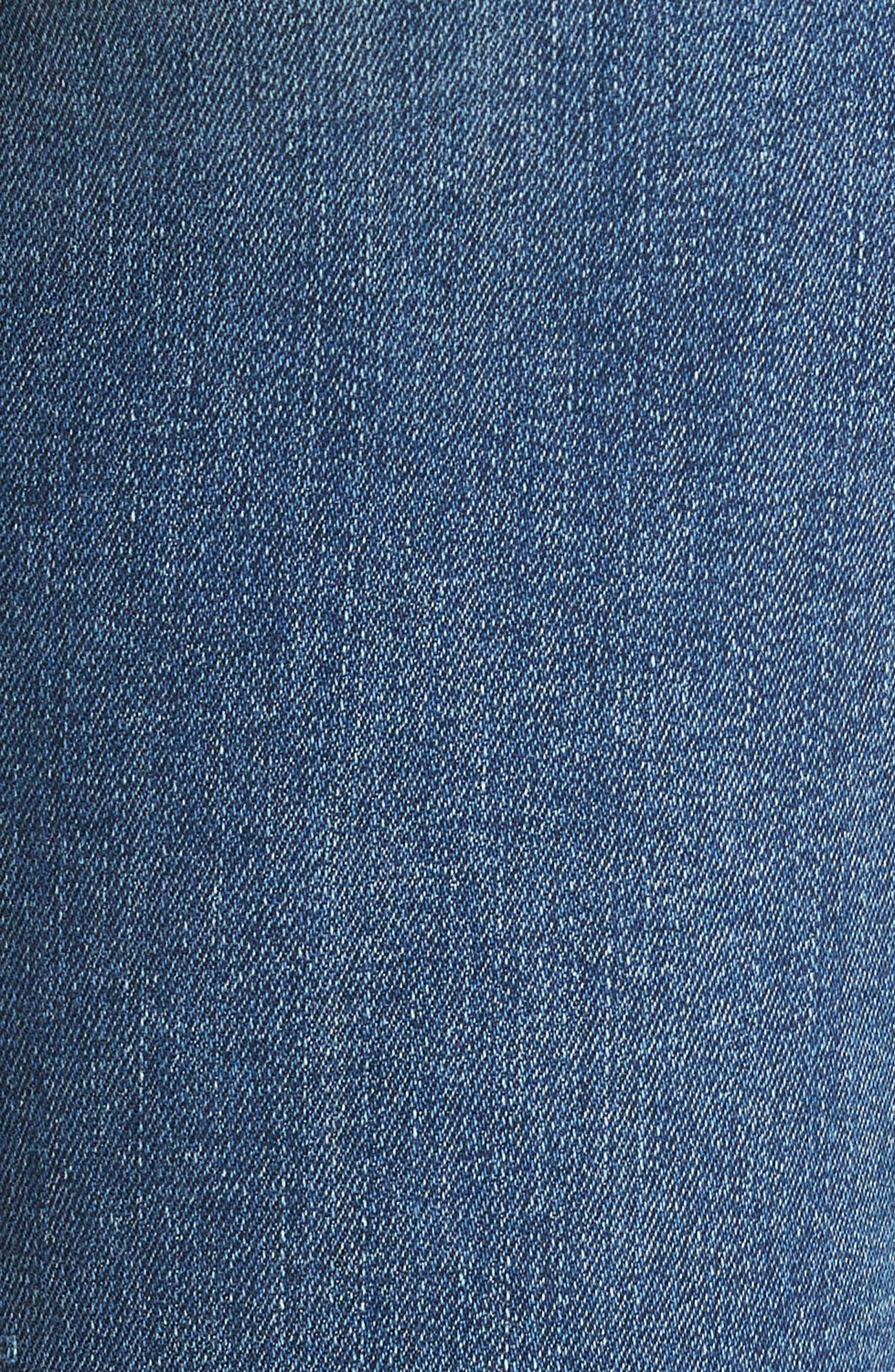 Transcend Vintage - Verdugo Crop Ultra Skinny Jeans,                             Alternate thumbnail 6, color,                             Bloomfield
