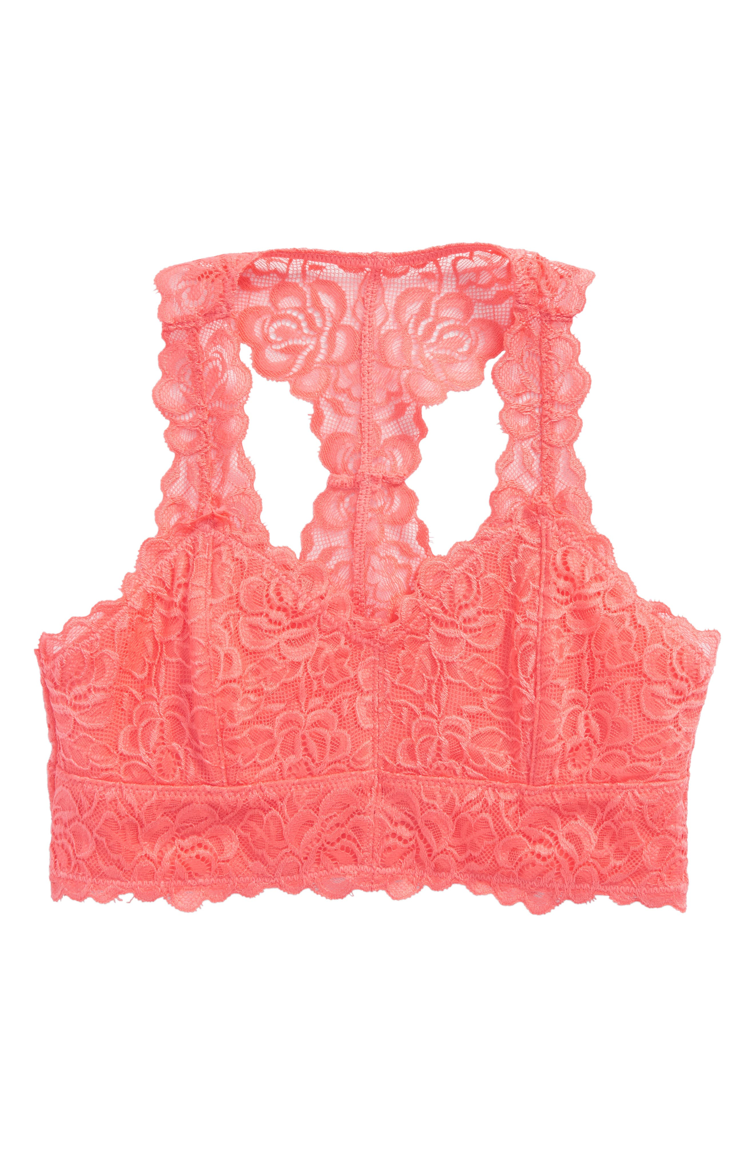 Alternate Image 1 Selected - Tucker + Tate Lace Bralette (Big Girls)