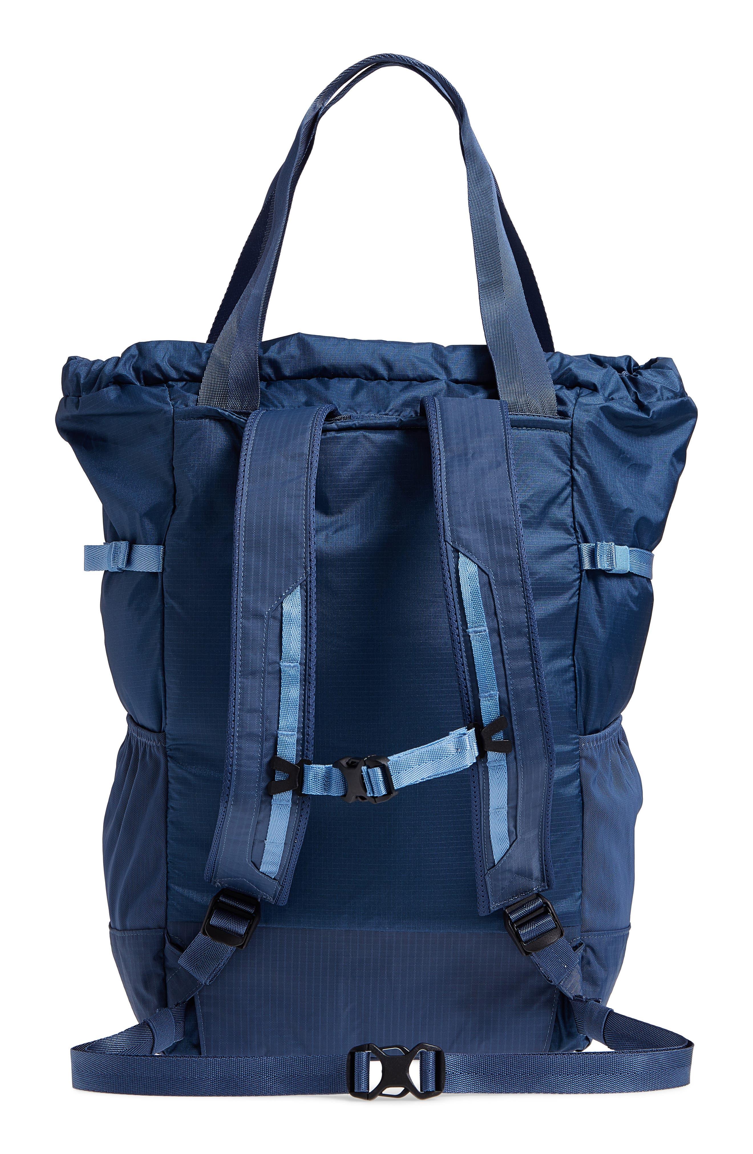 Lightweight Travel Tote Pack,                             Alternate thumbnail 3, color,                             Dolomite Blue