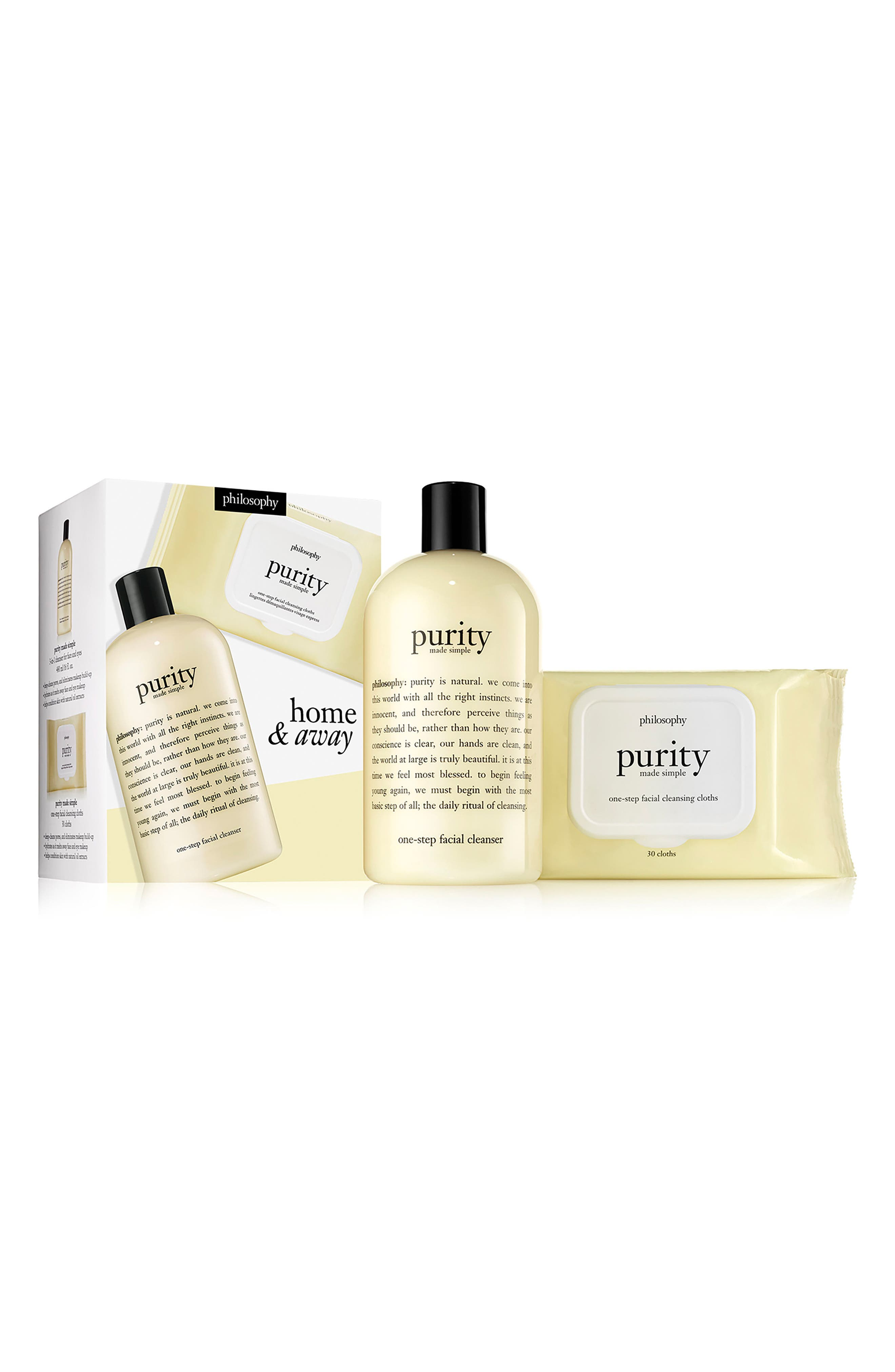 Alternate Image 1 Selected - philosophy purity made simple home & away duo ($52 Value)
