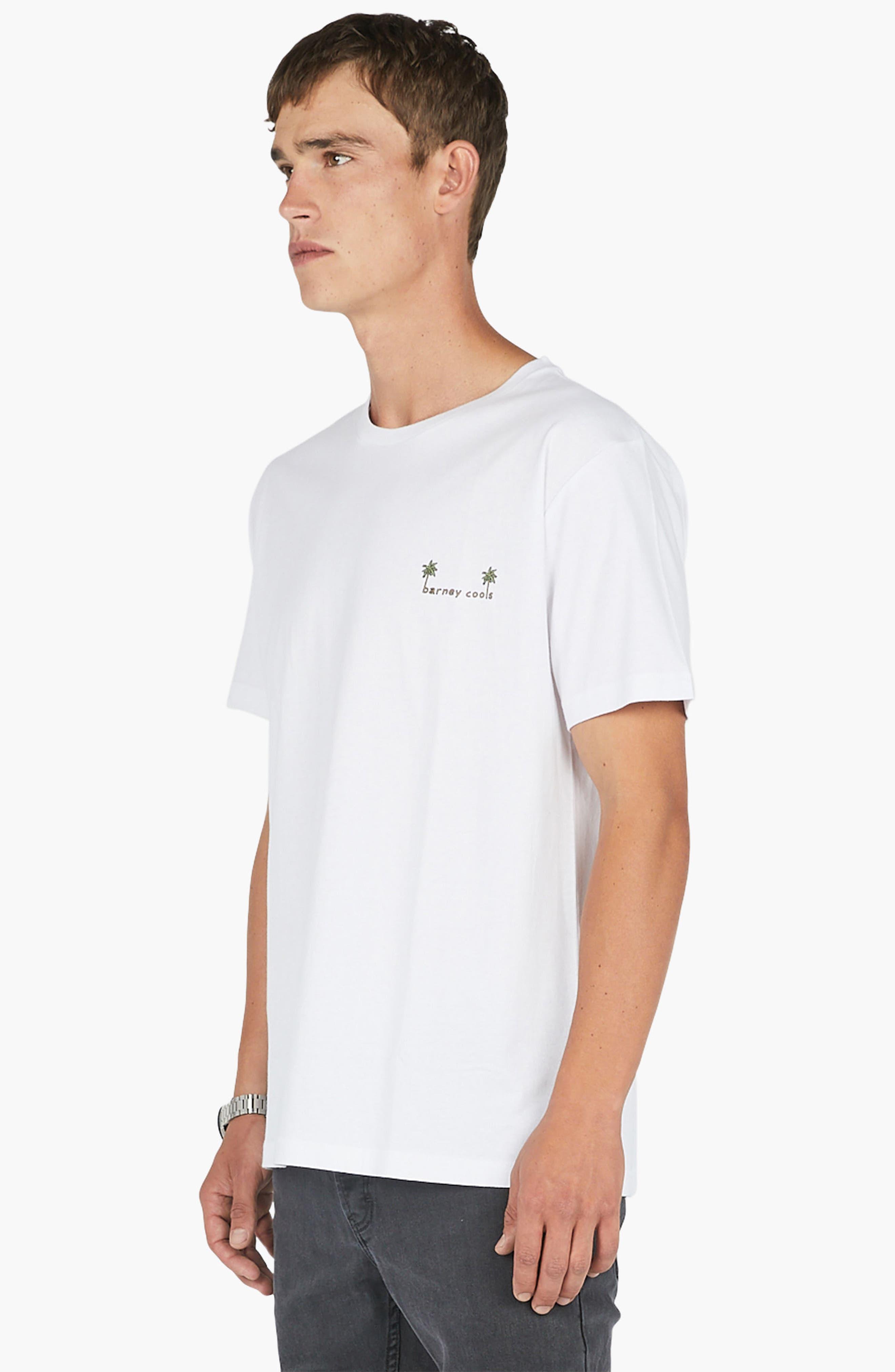 Life's Tough T-Shirt,                             Alternate thumbnail 4, color,                             White