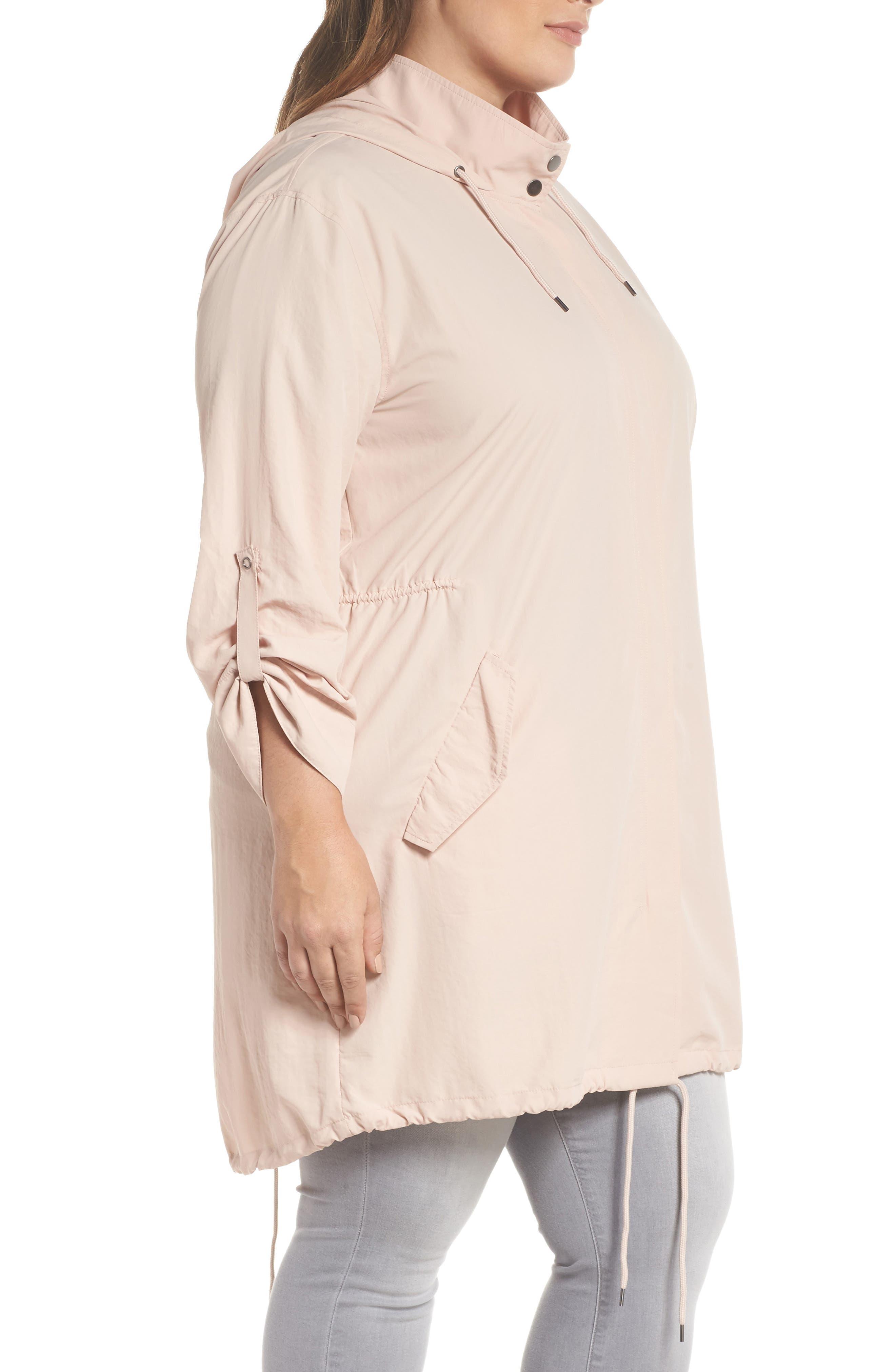 Tumbled Anorak Jacket,                             Alternate thumbnail 4, color,                             Pink