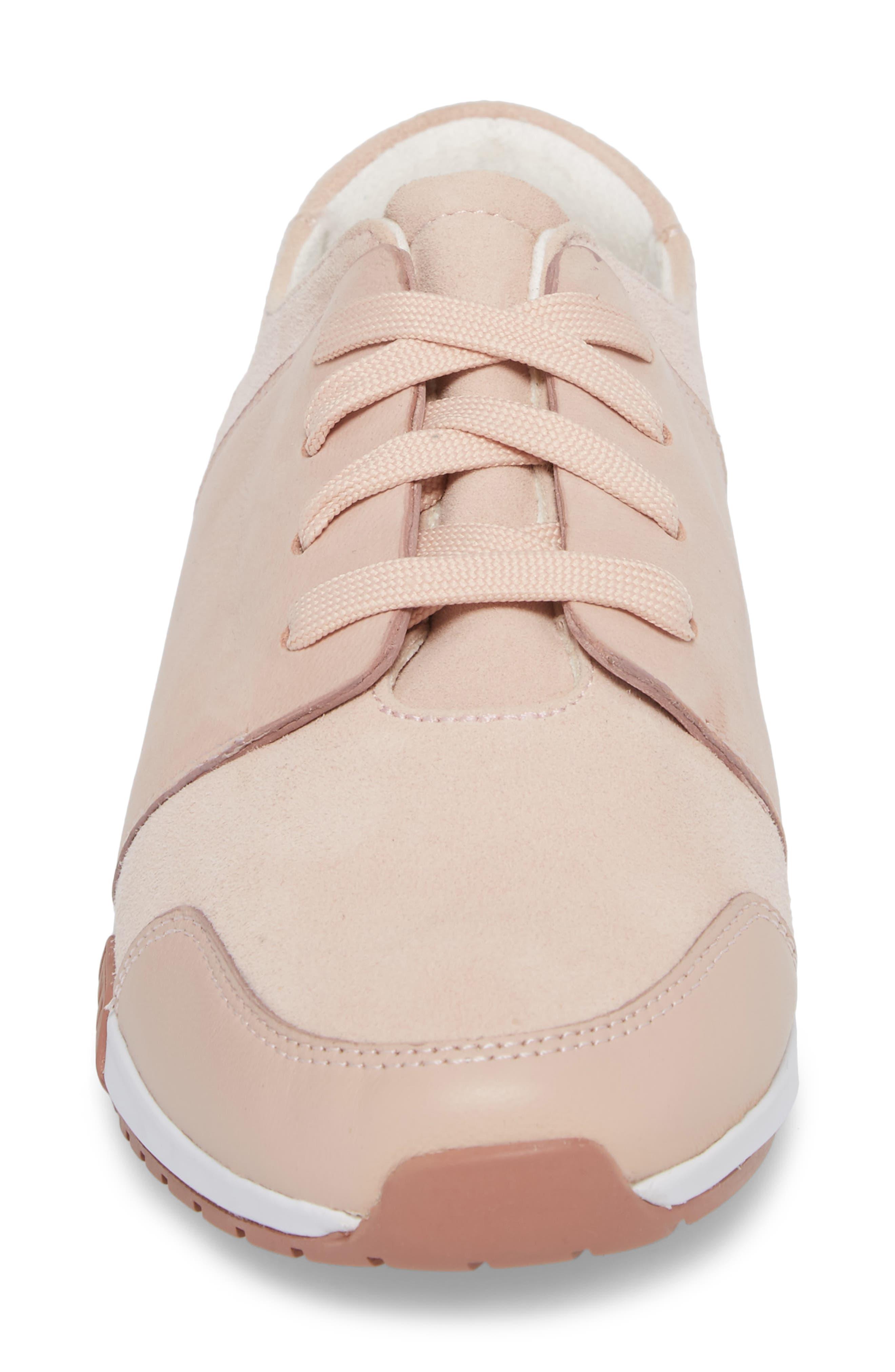 Sumner 2 Sneaker,                             Alternate thumbnail 4, color,                             Rose Suede