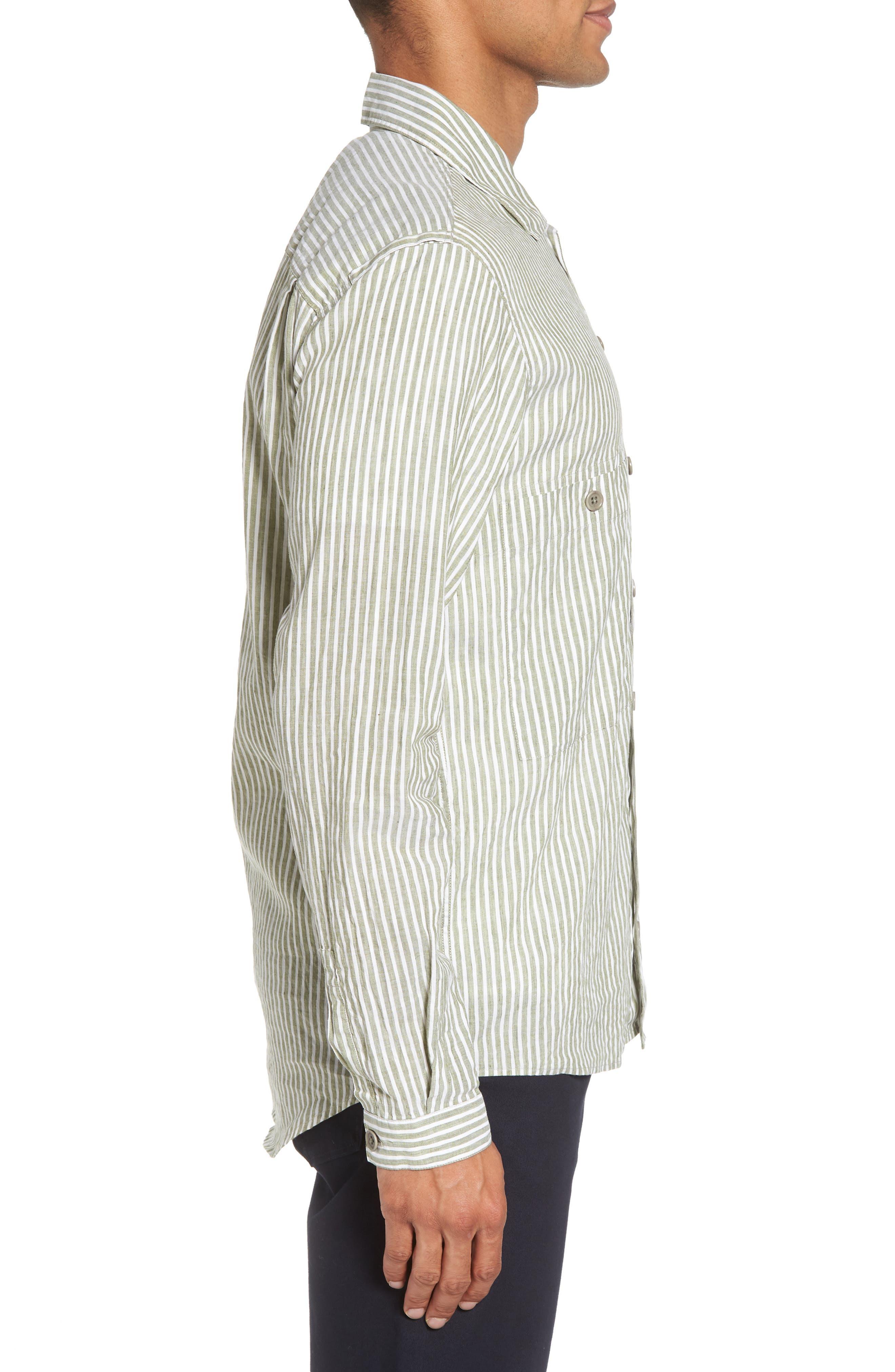 Alternate Image 3  - YMC Doc Savage Regular Fit Sport Shirt