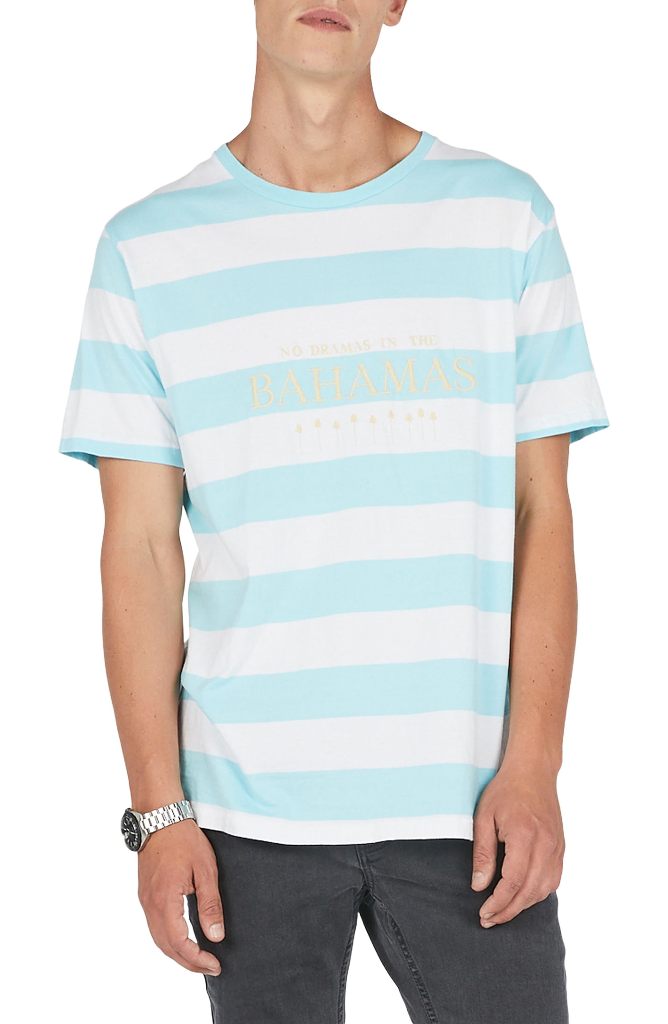 Barney Cools Bahamas Stripe T-Shirt