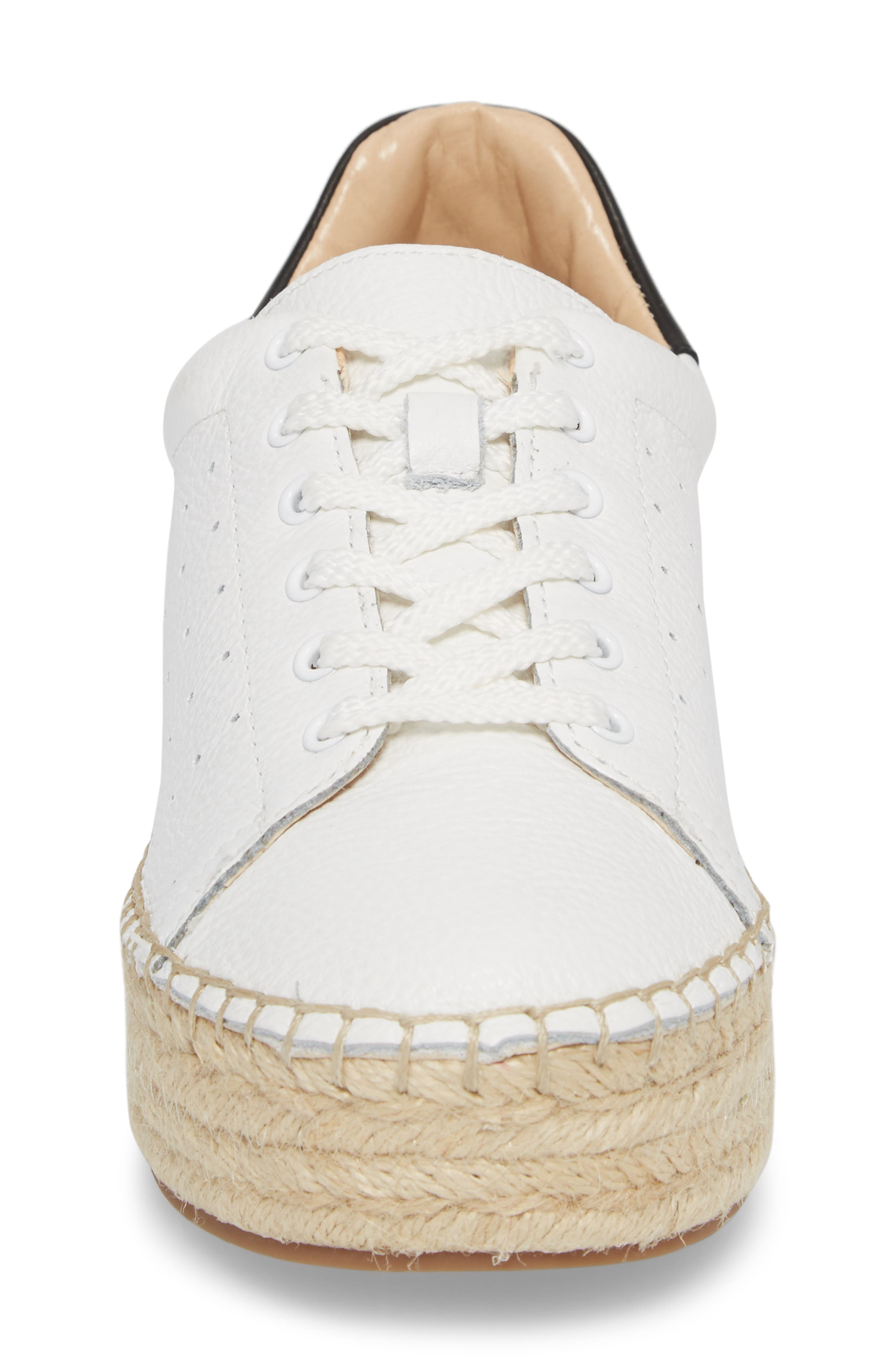Jinnie Espadrille Sneaker,                             Alternate thumbnail 4, color,                             Picket Fence