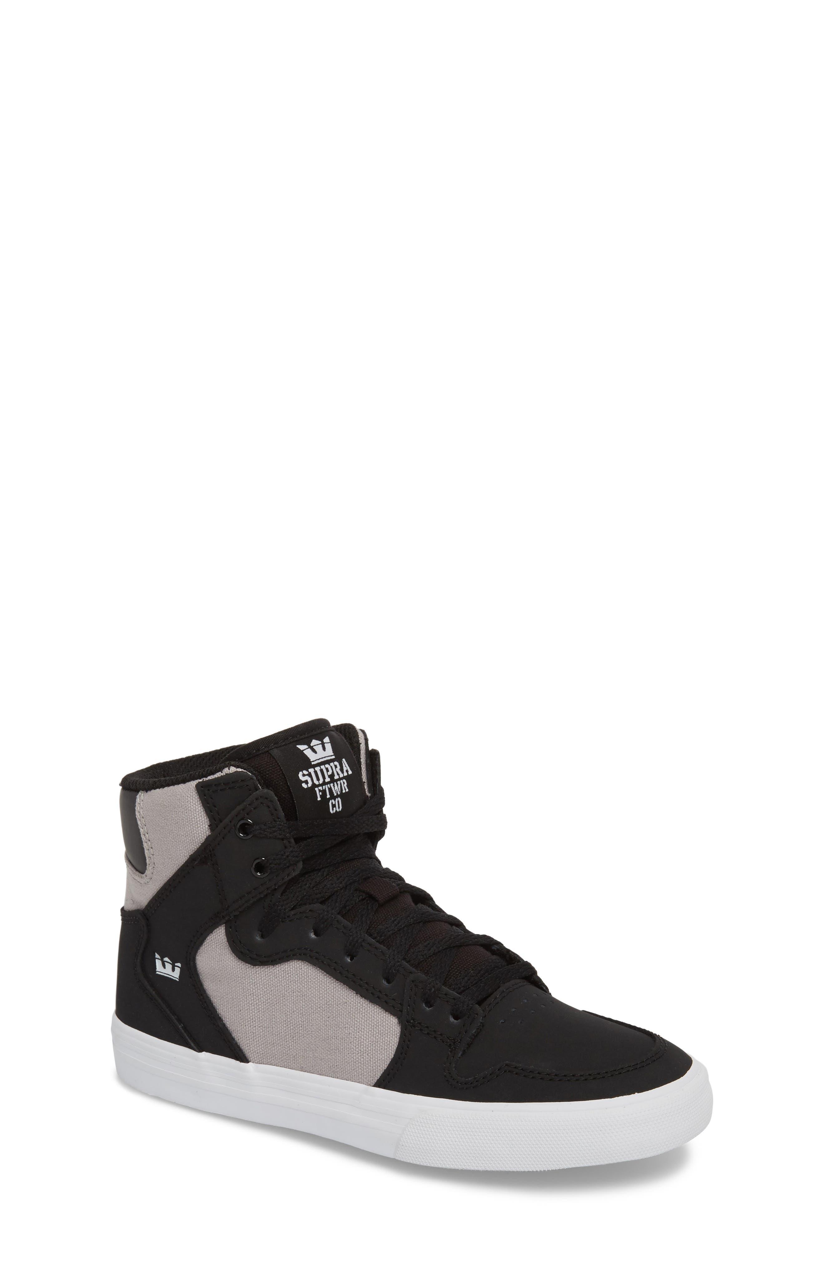 Supra 'Vaider' High Top Sneaker (Toddler, Little Kid & Big Kid)