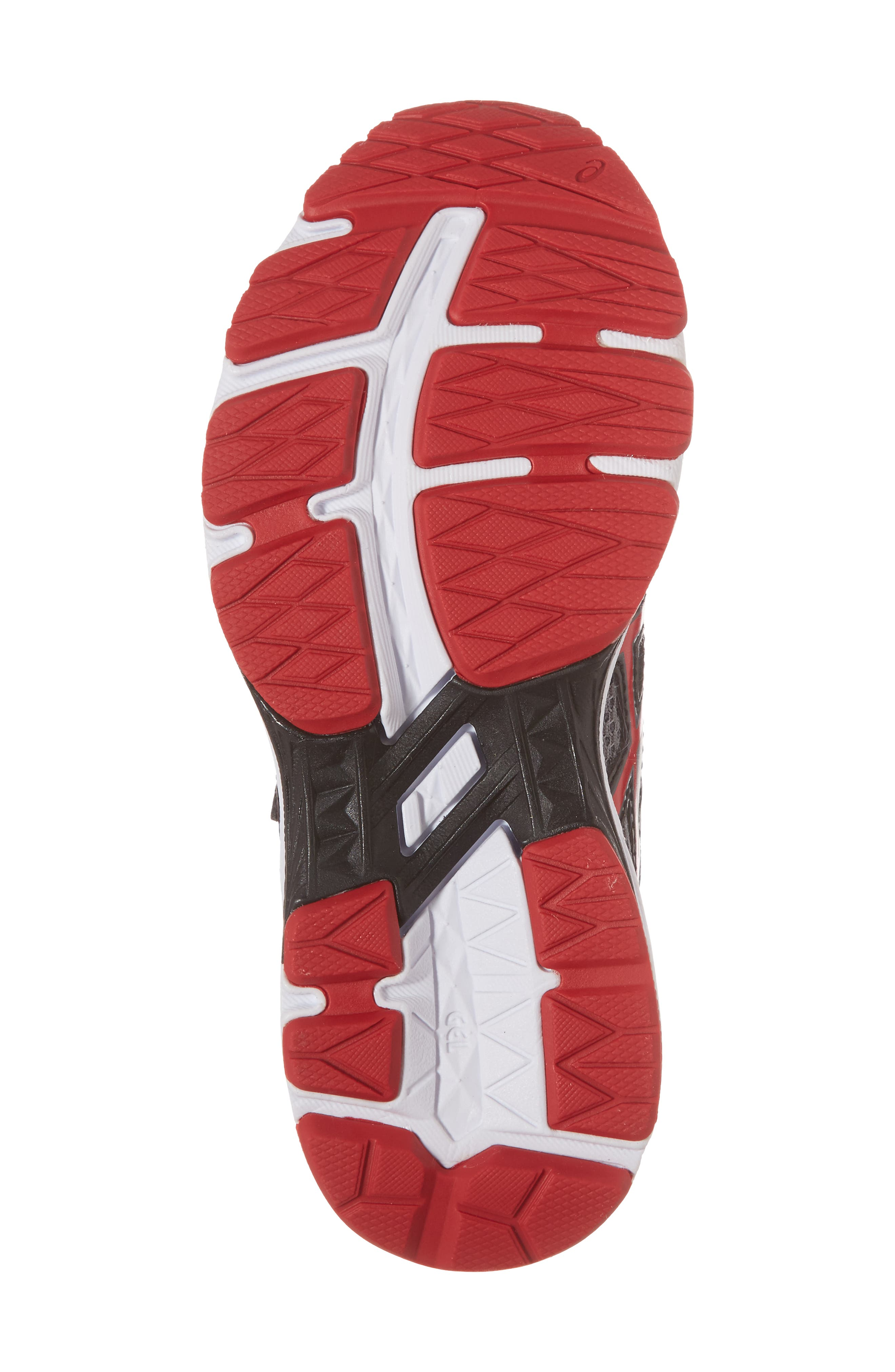 Asics GT-1000<sup>™</sup> 6 PS Sneaker,                             Alternate thumbnail 6, color,                             Stone Grey/ Classic Red/ Black