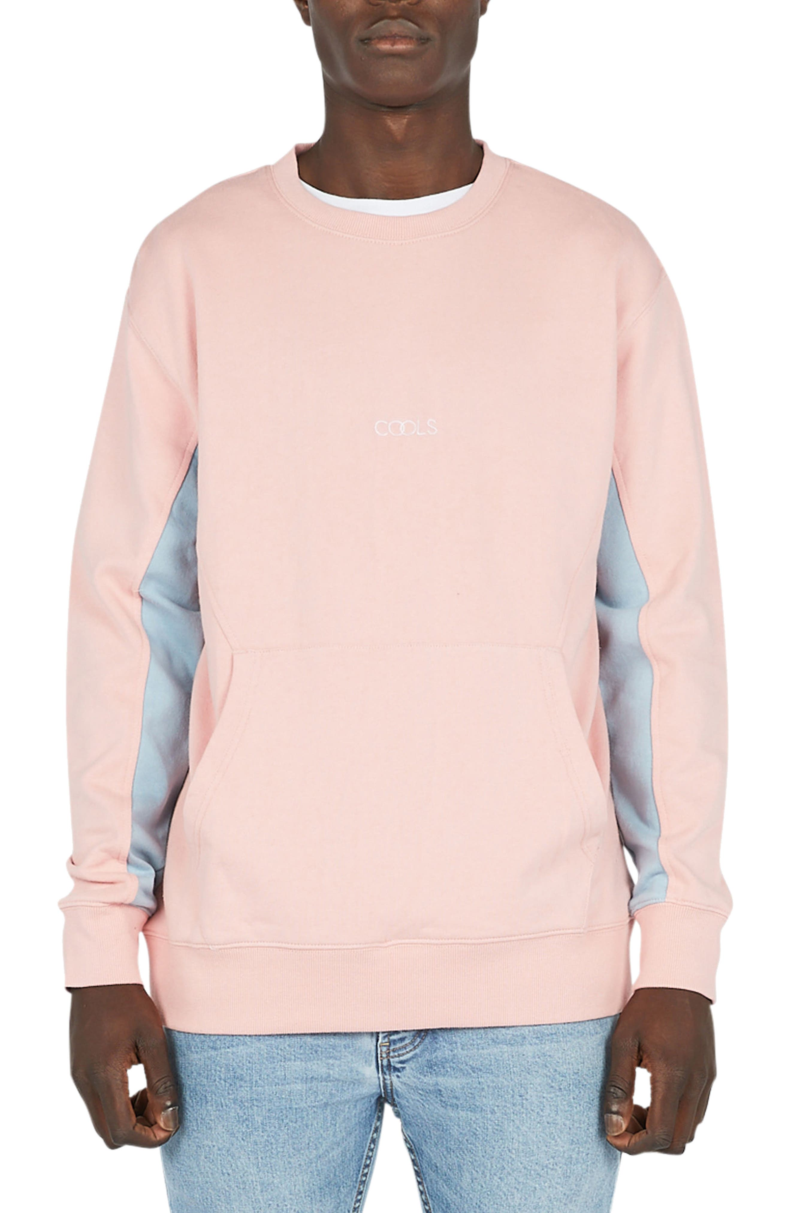 Sport Crew Sweater,                         Main,                         color, Pink