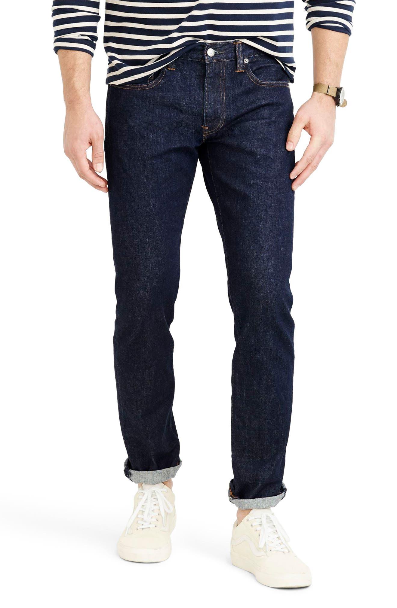 J.Crew 484 Slim Fit Stretch Jeans (Indigo Stretch)