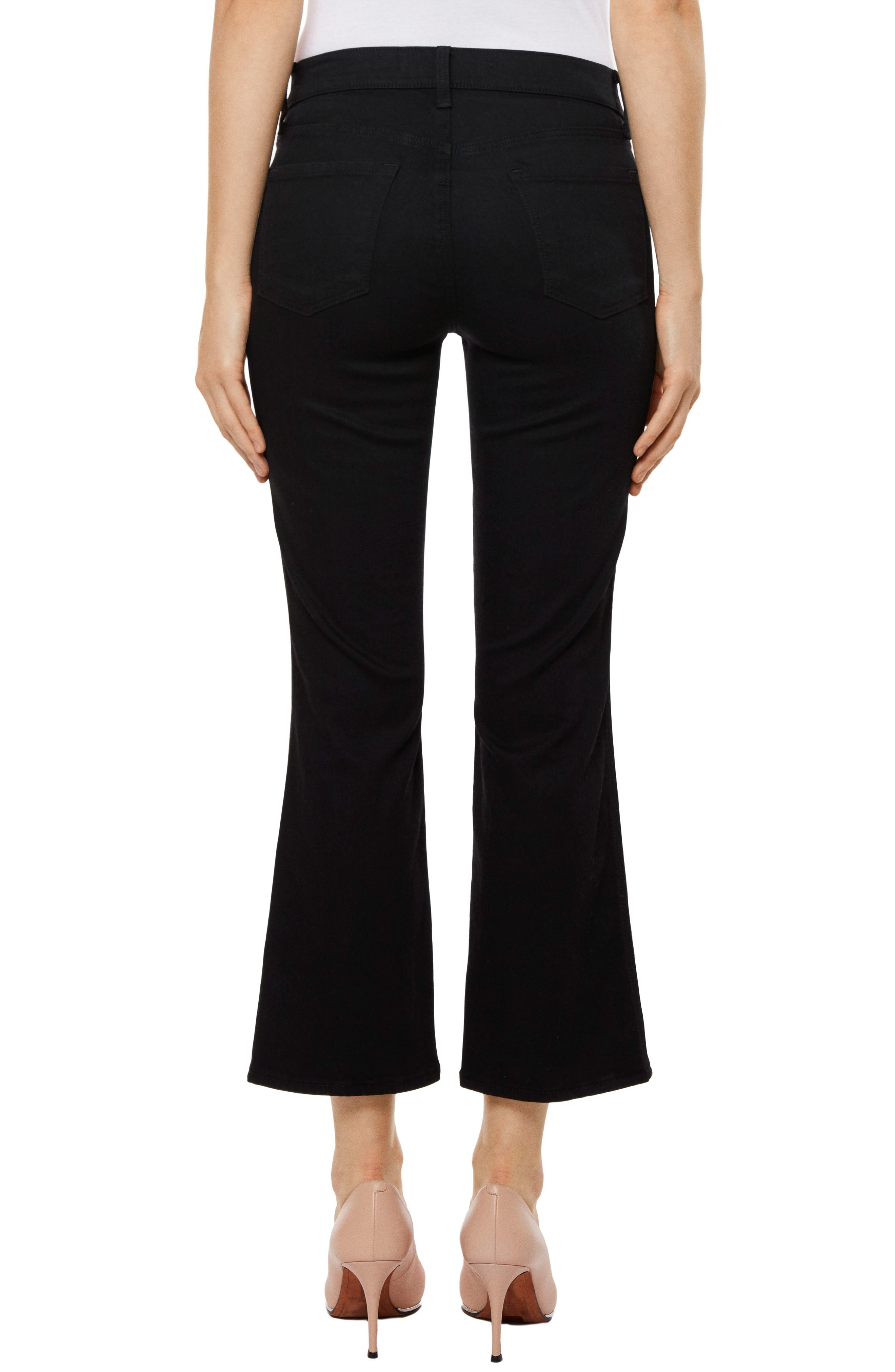 Zion Crop Flare Jeans,                             Alternate thumbnail 2, color,                             Vanity