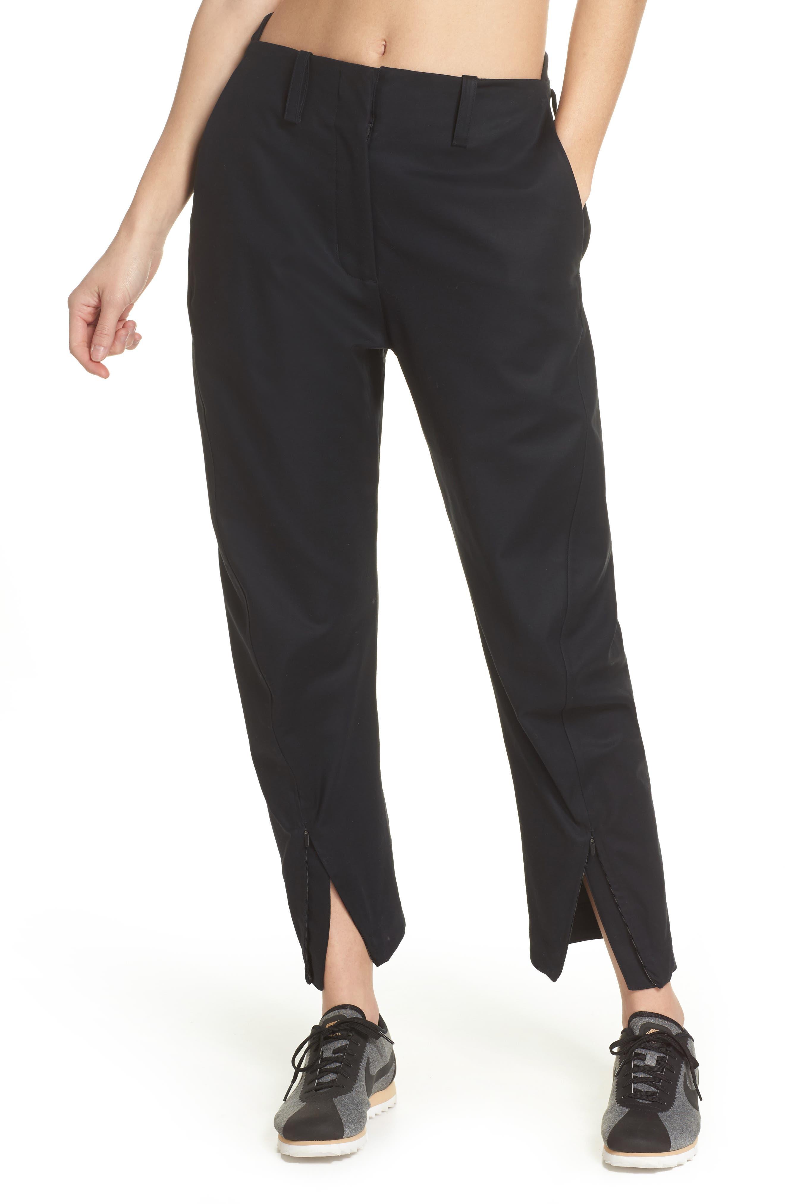NikeLab ACG Tech Woven Pants,                             Main thumbnail 1, color,                             Black