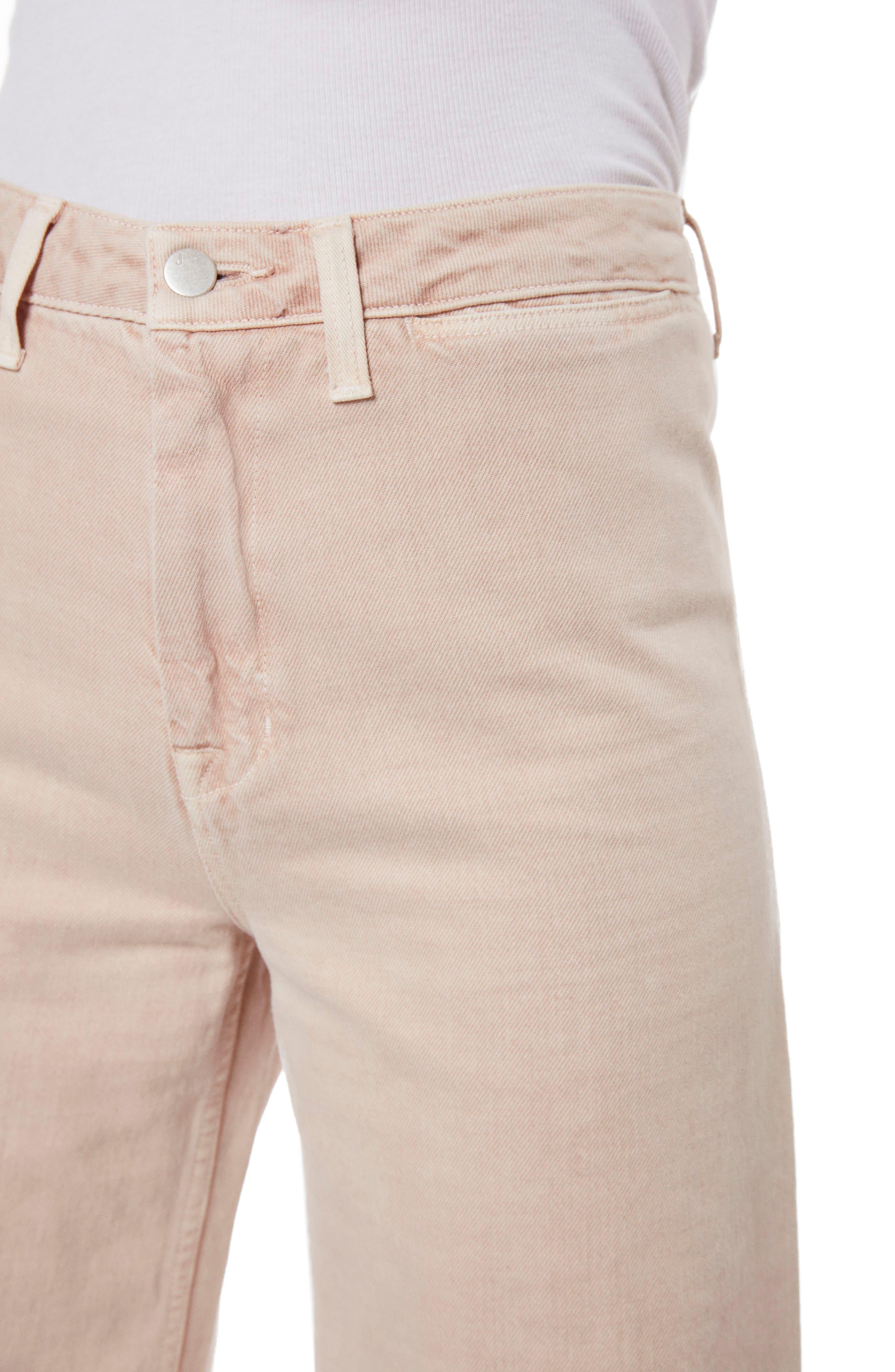Hallton High Waist Wide Leg Jeans,                             Alternate thumbnail 4, color,                             Memory