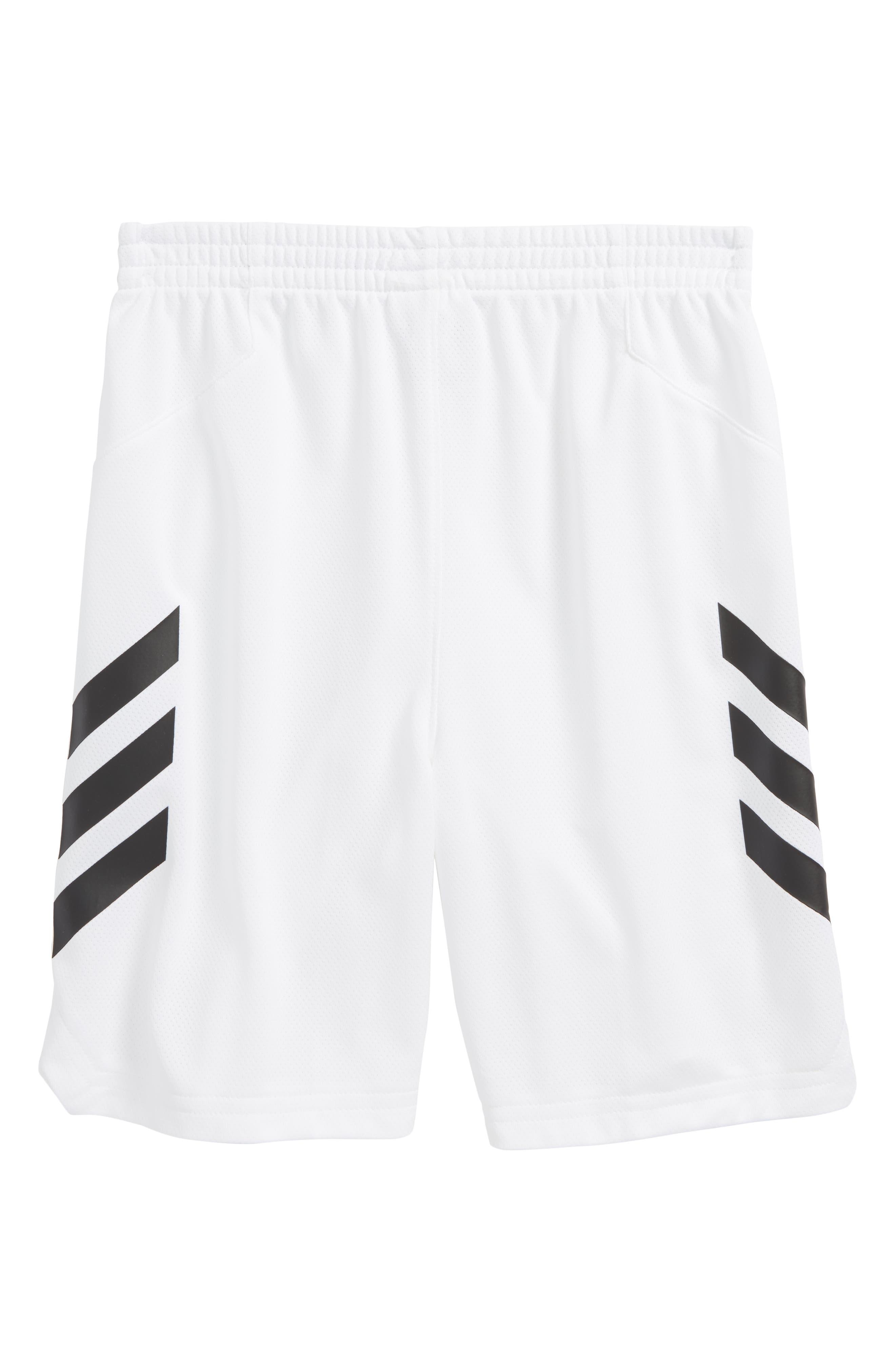Climacool<sup>®</sup> Sport Shorts,                             Alternate thumbnail 2, color,                             White