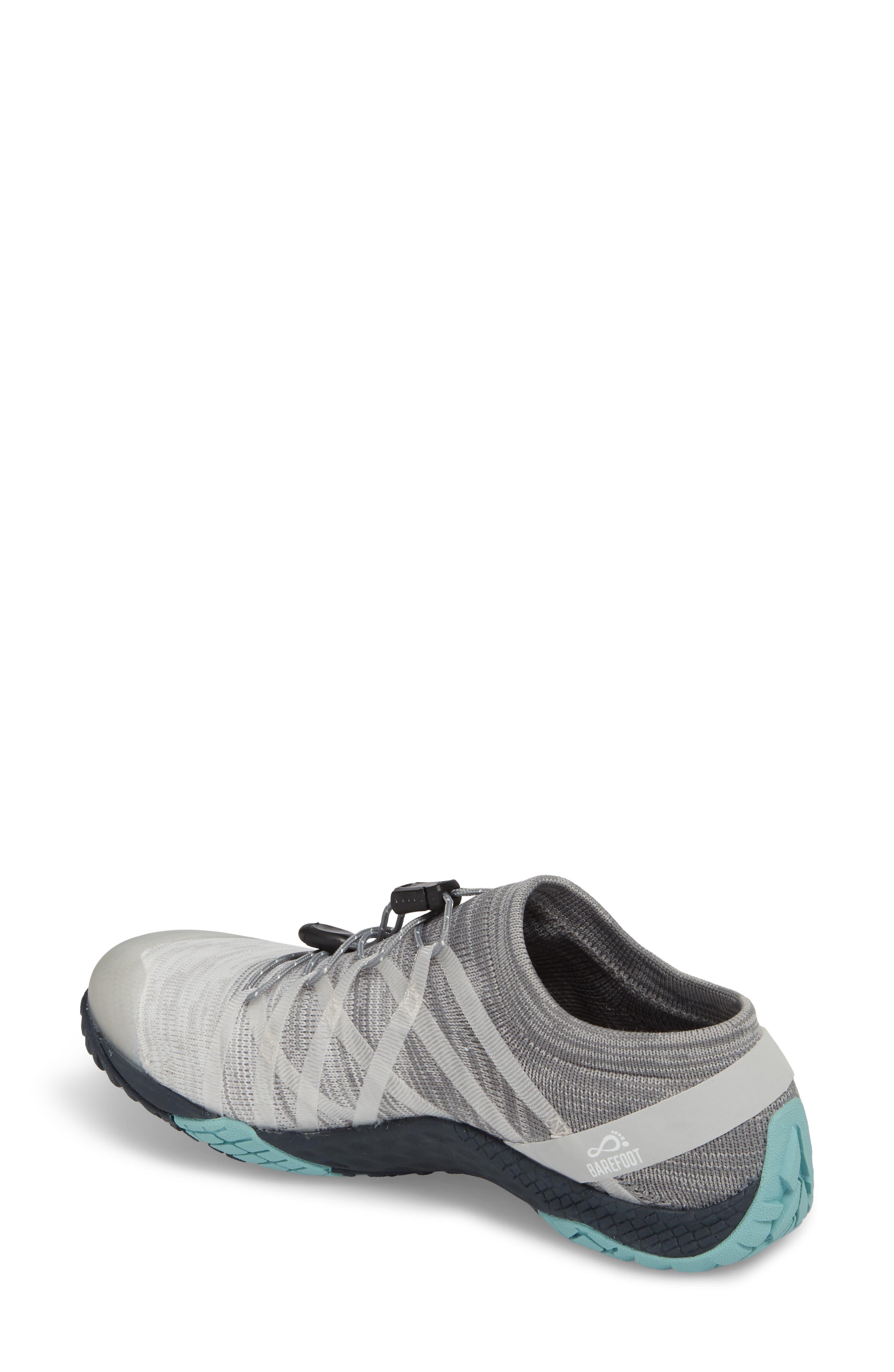 Trail Glove 4 Knit Running Shoe,                             Alternate thumbnail 2, color,                             Vapor
