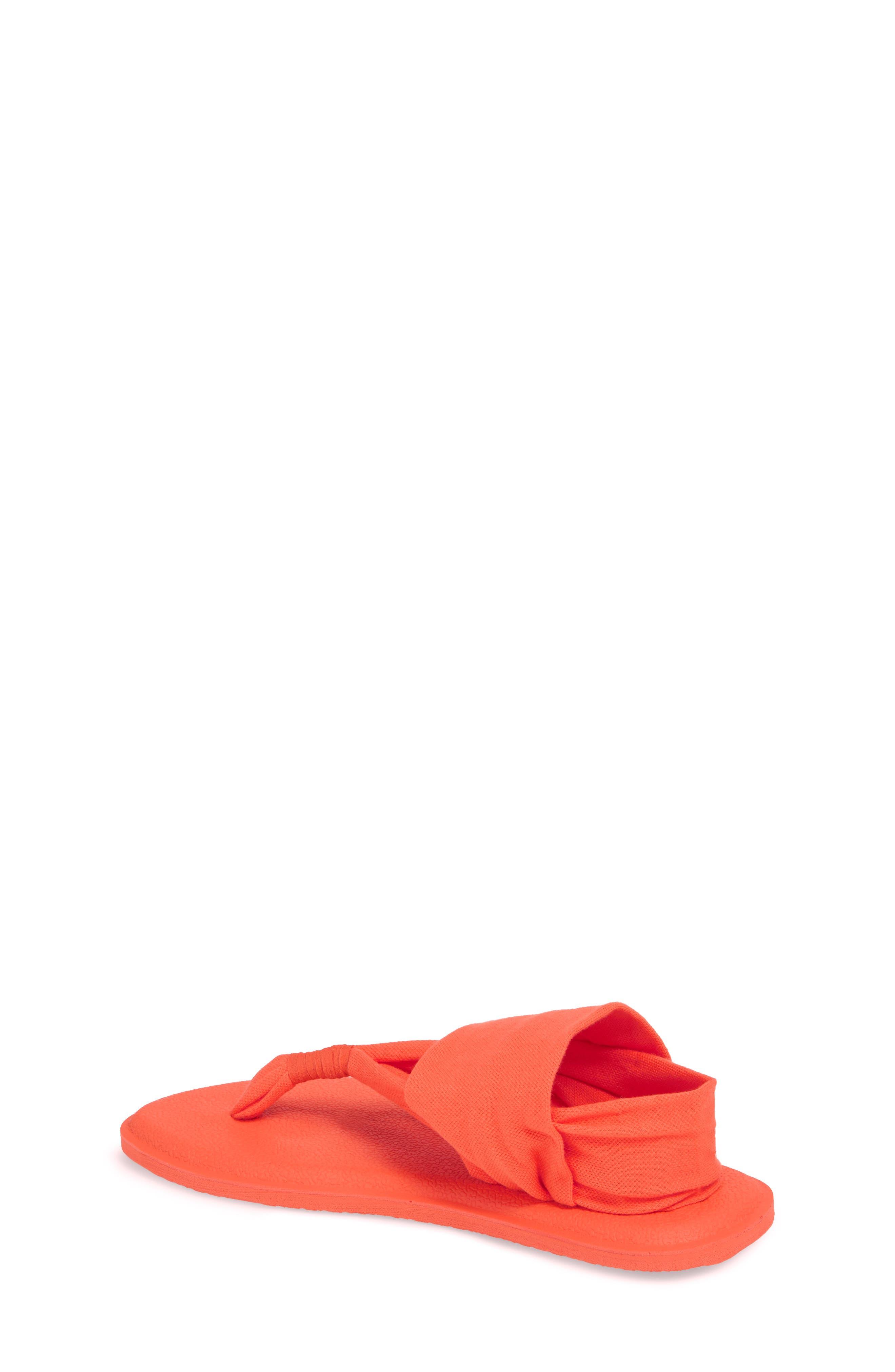 'Yoga Sling Burst' Sandal,                             Alternate thumbnail 2, color,                             Nasturium