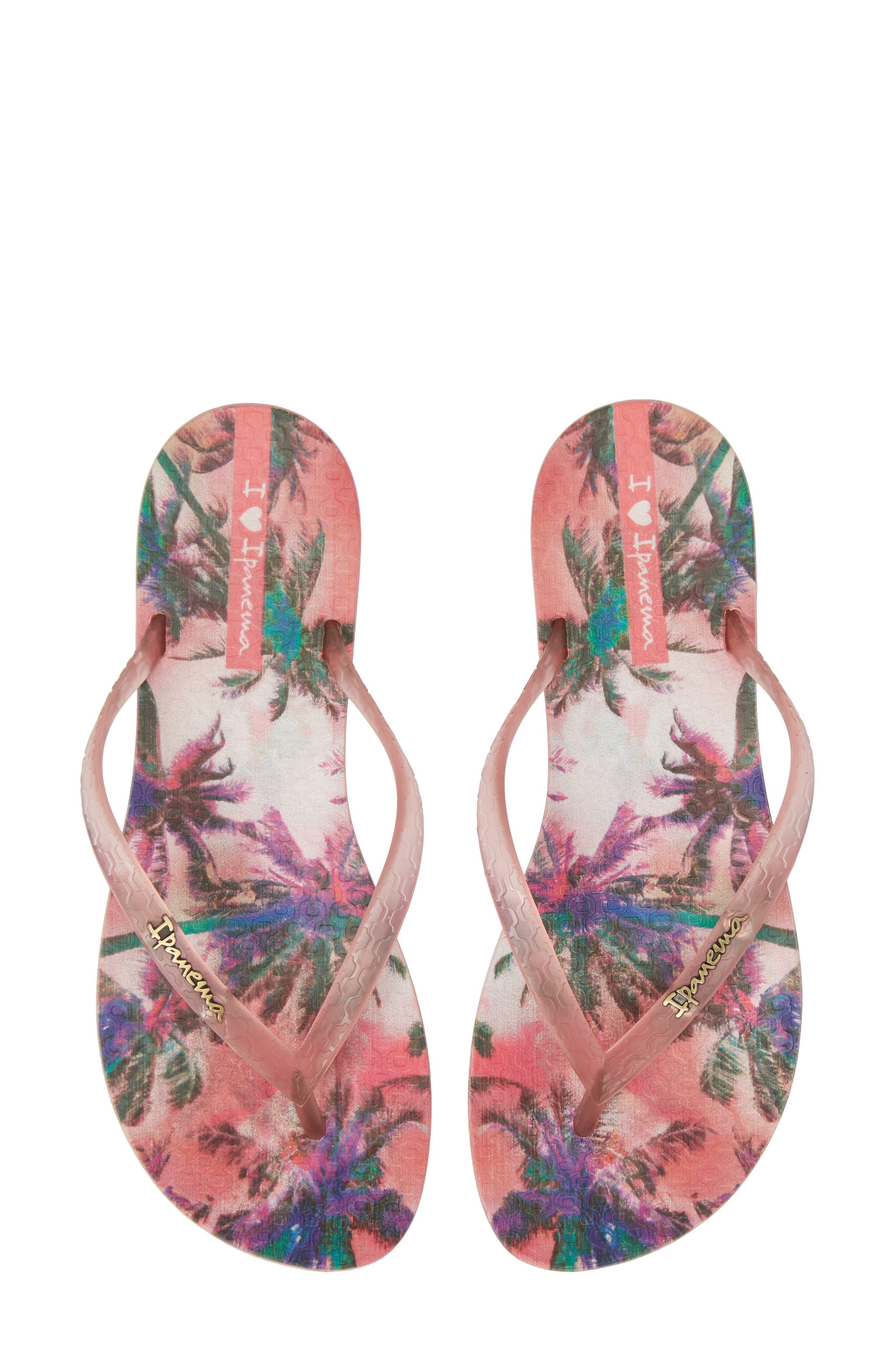 Ipanema Wave Vista Print Flip-Flop (Women)