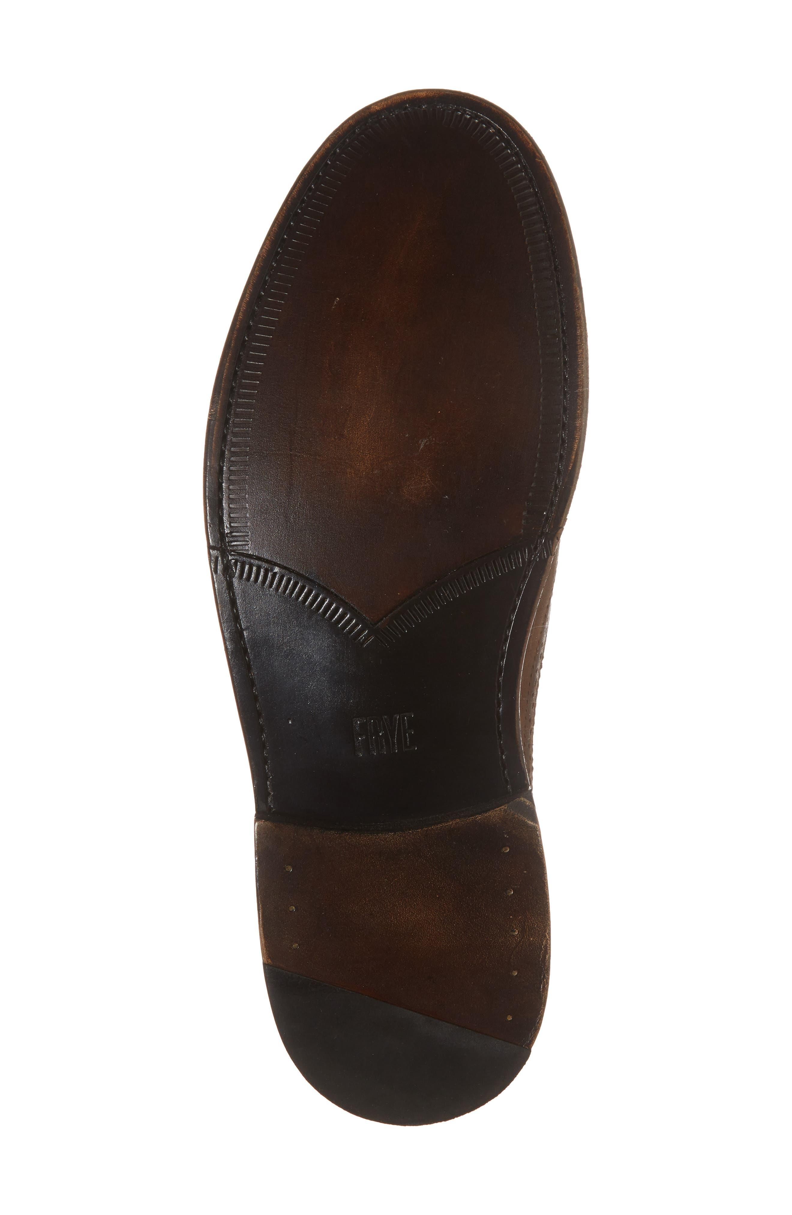 Jones Wingtip,                             Alternate thumbnail 6, color,                             Redwood Leather