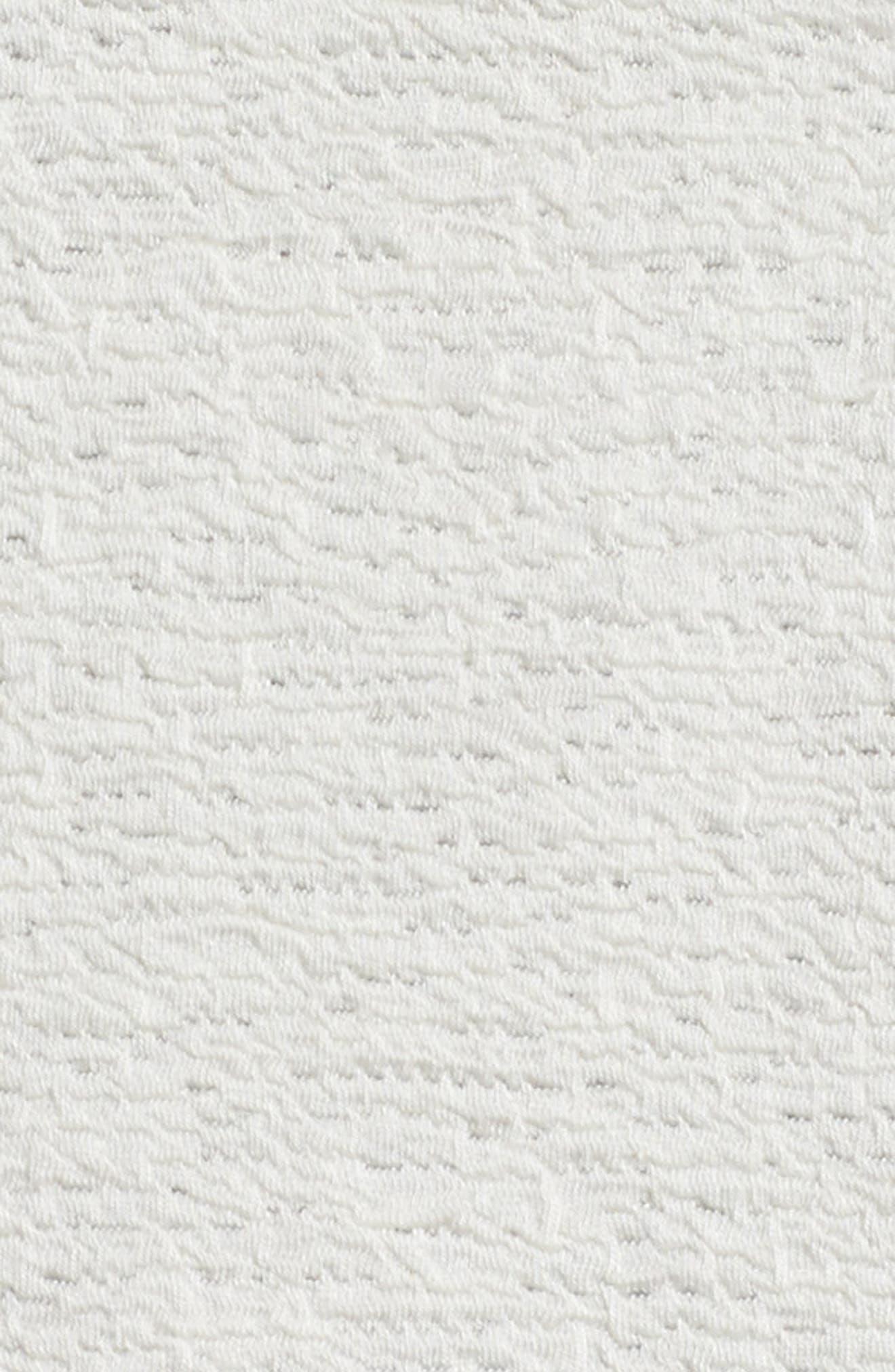 Textured Tencel<sup>®</sup> Lyocell Kimono Jacket,                             Alternate thumbnail 5, color,                             White