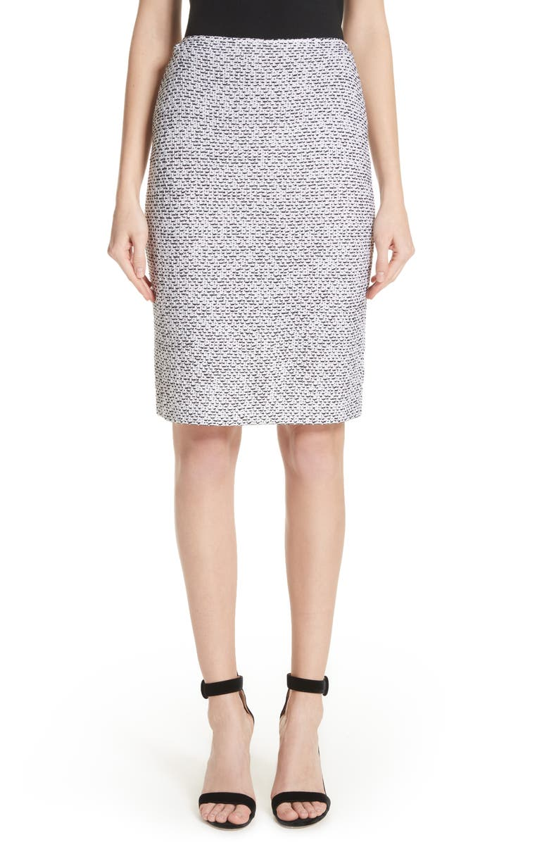 Olivia Boucl? Knit Skirt