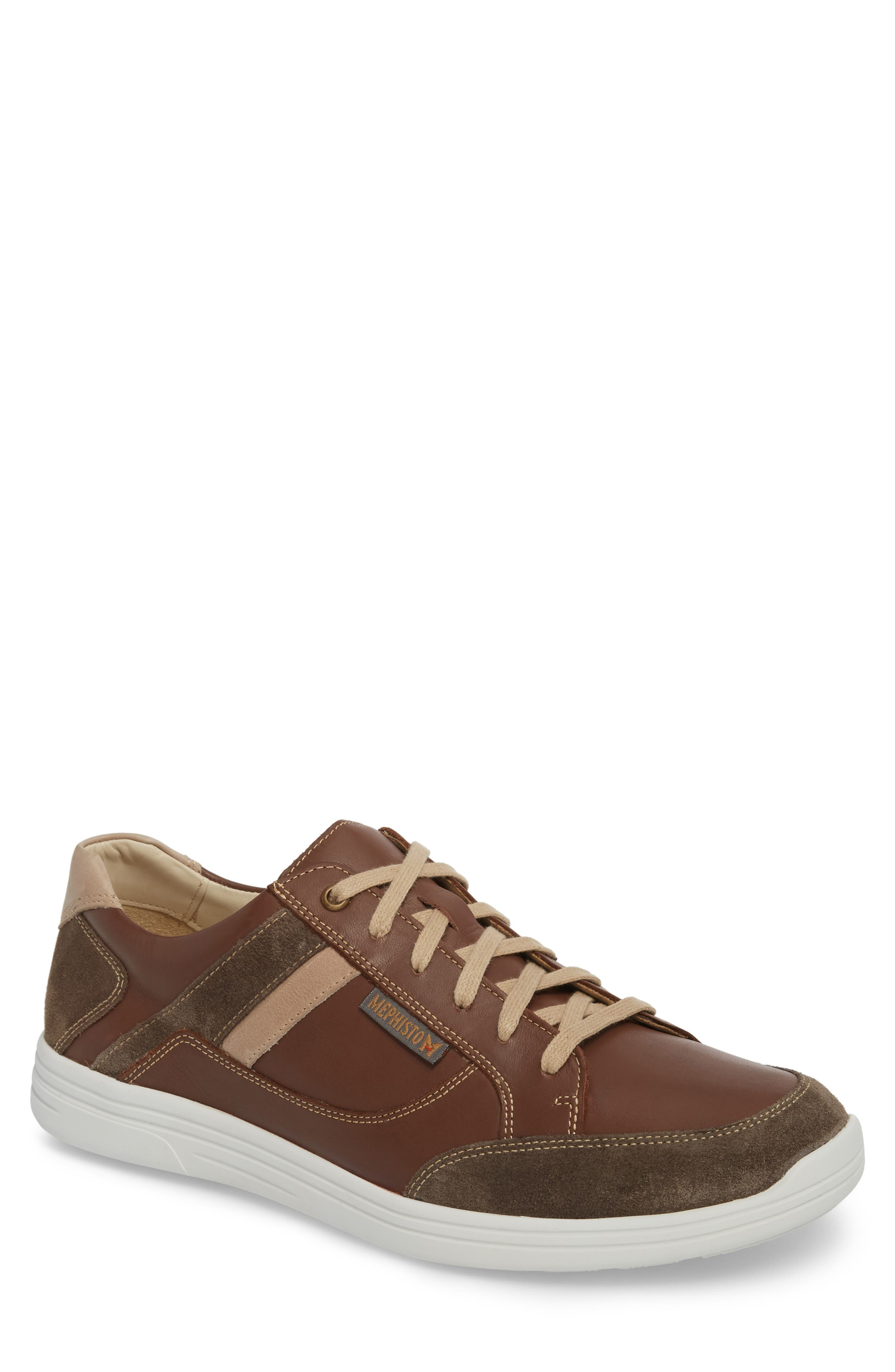 'Frank GoWing' Sneaker,                         Main,                         color, Dark Taupe