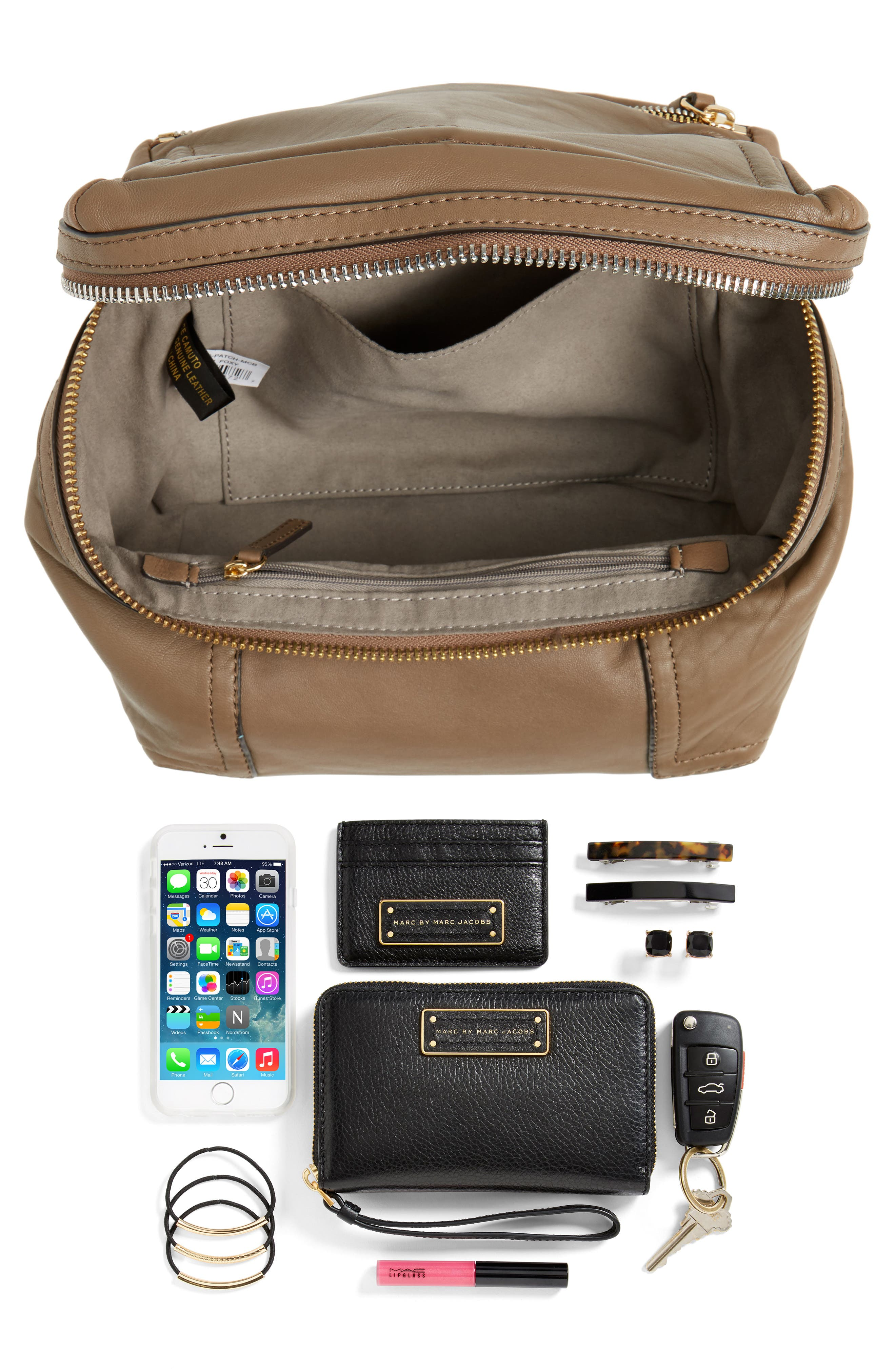 Alternate Image 8  - Vince Camuto Medium Patch Leather Crossbody Bag