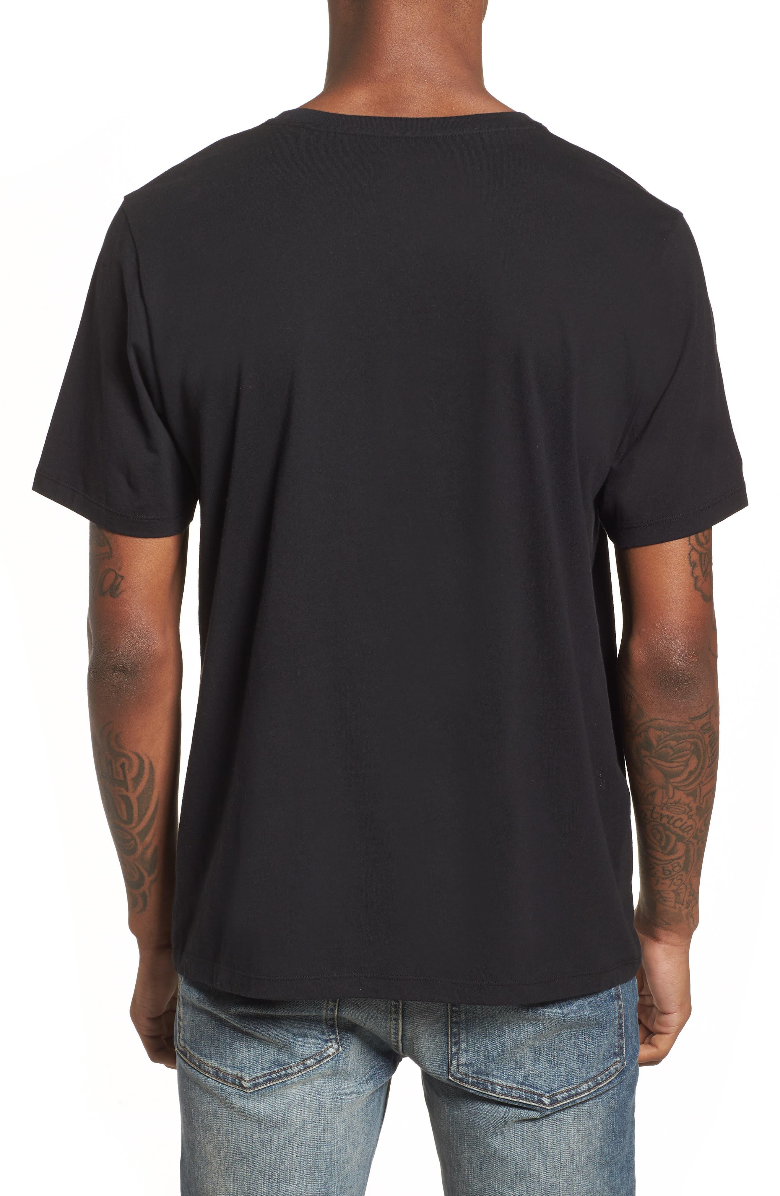 Cherub Graphic T-Shirt,                             Alternate thumbnail 2, color,                             Black