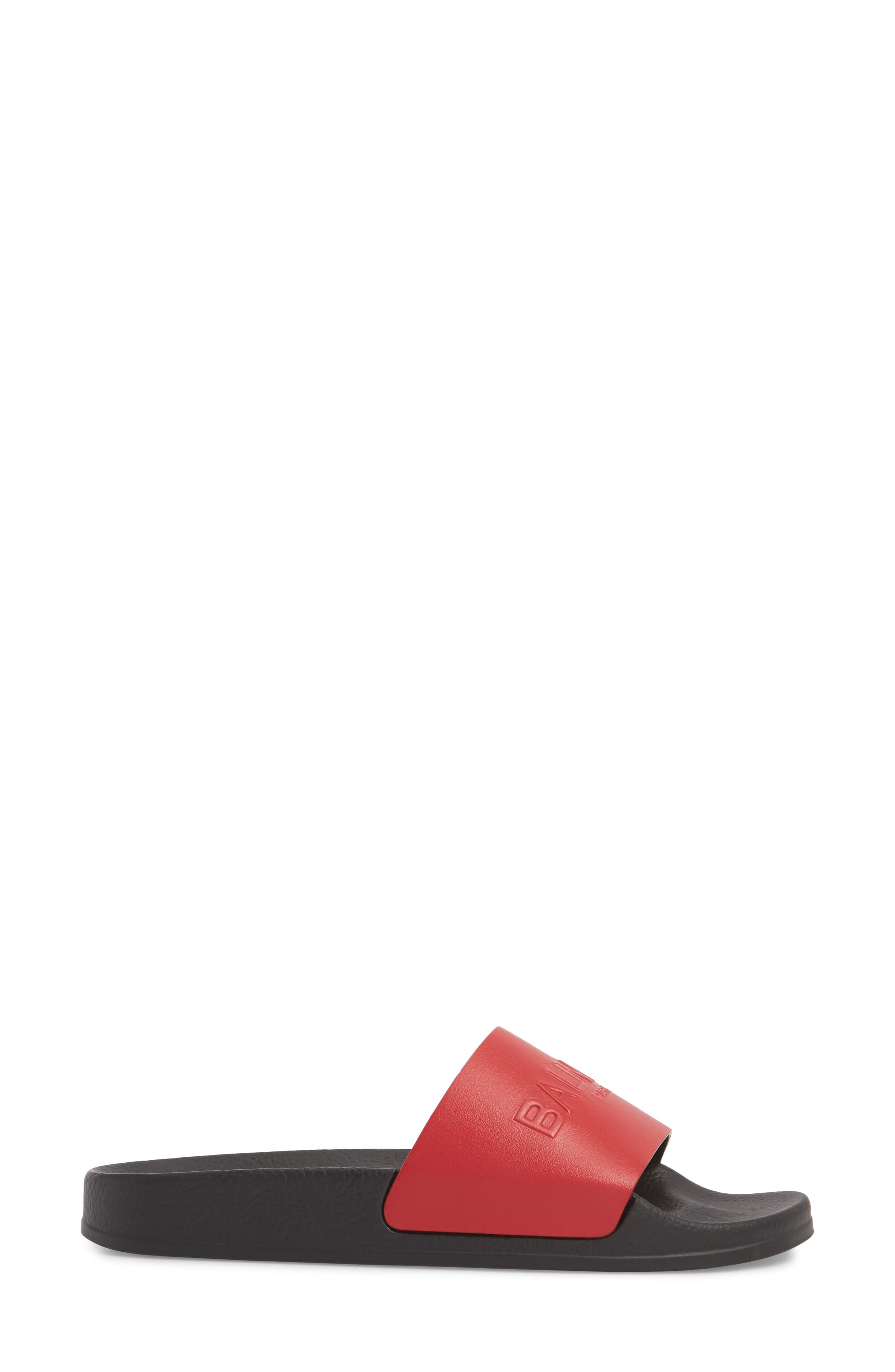 Alternate Image 3  - Balmain Calypso Logo Strap Slide Sandal (Women)