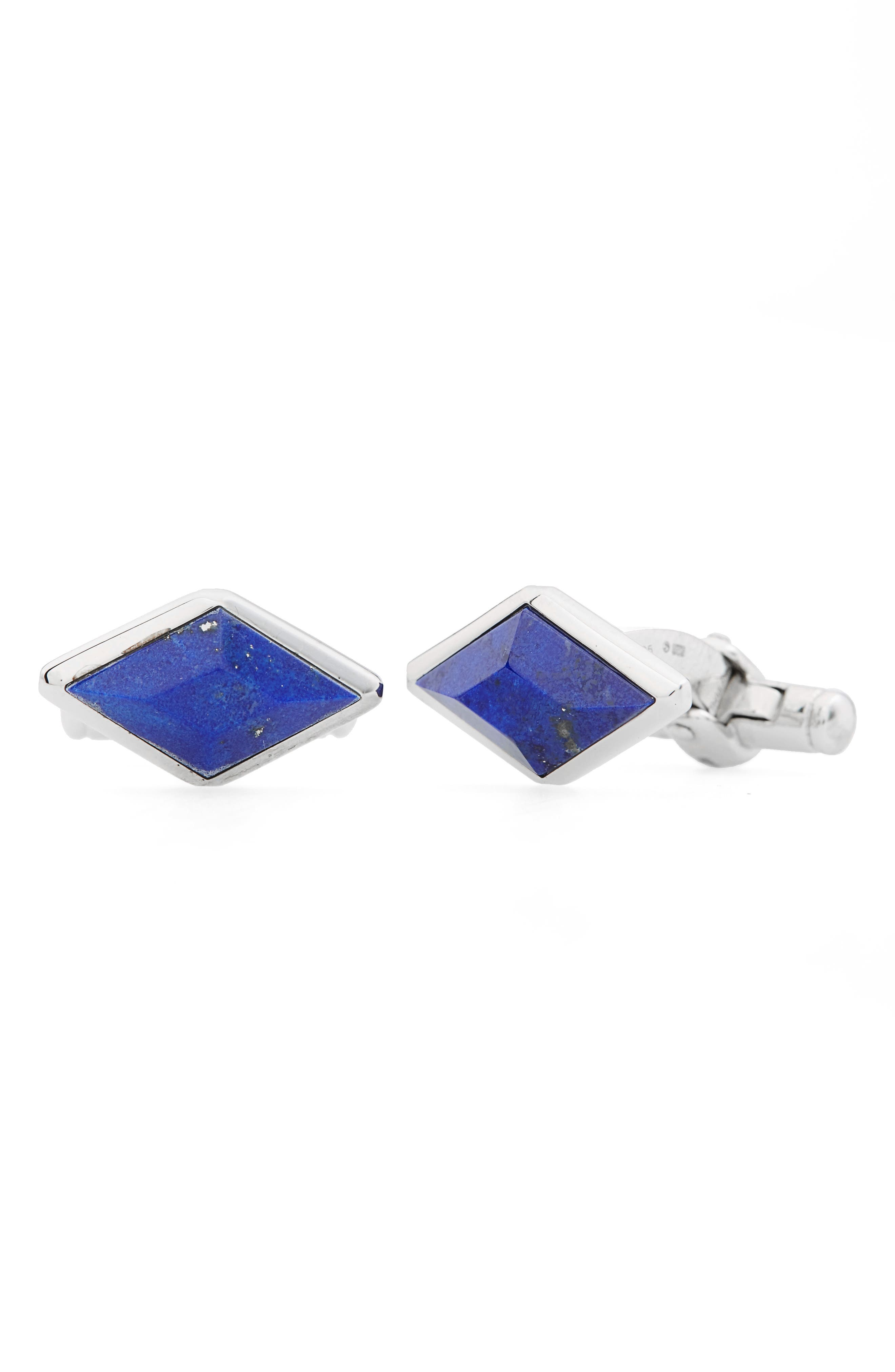 Dunhill Pyramid Stone Cuff Links