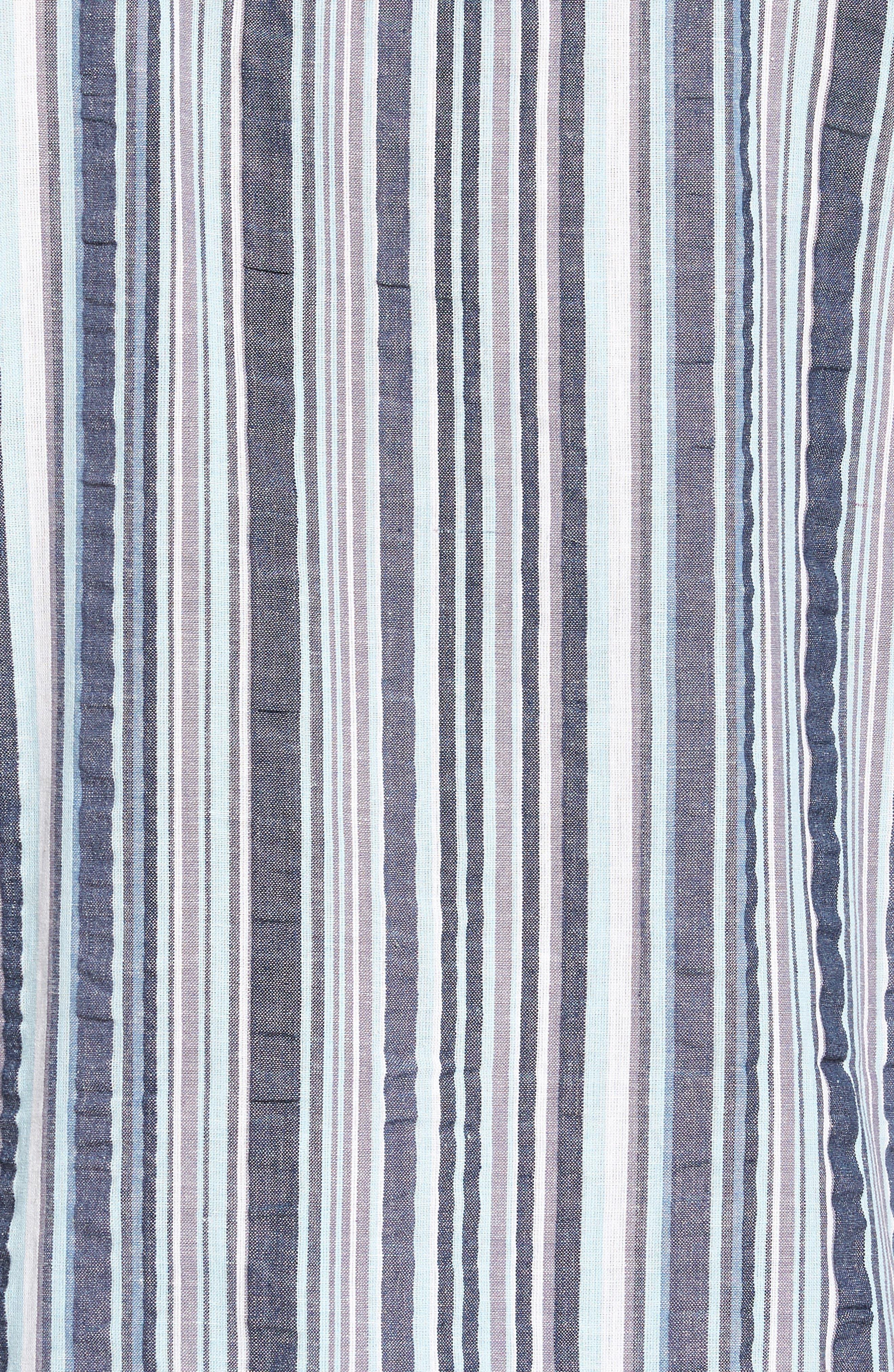 Summer Shell Short Pajamas,                             Alternate thumbnail 5, color,                             Ash