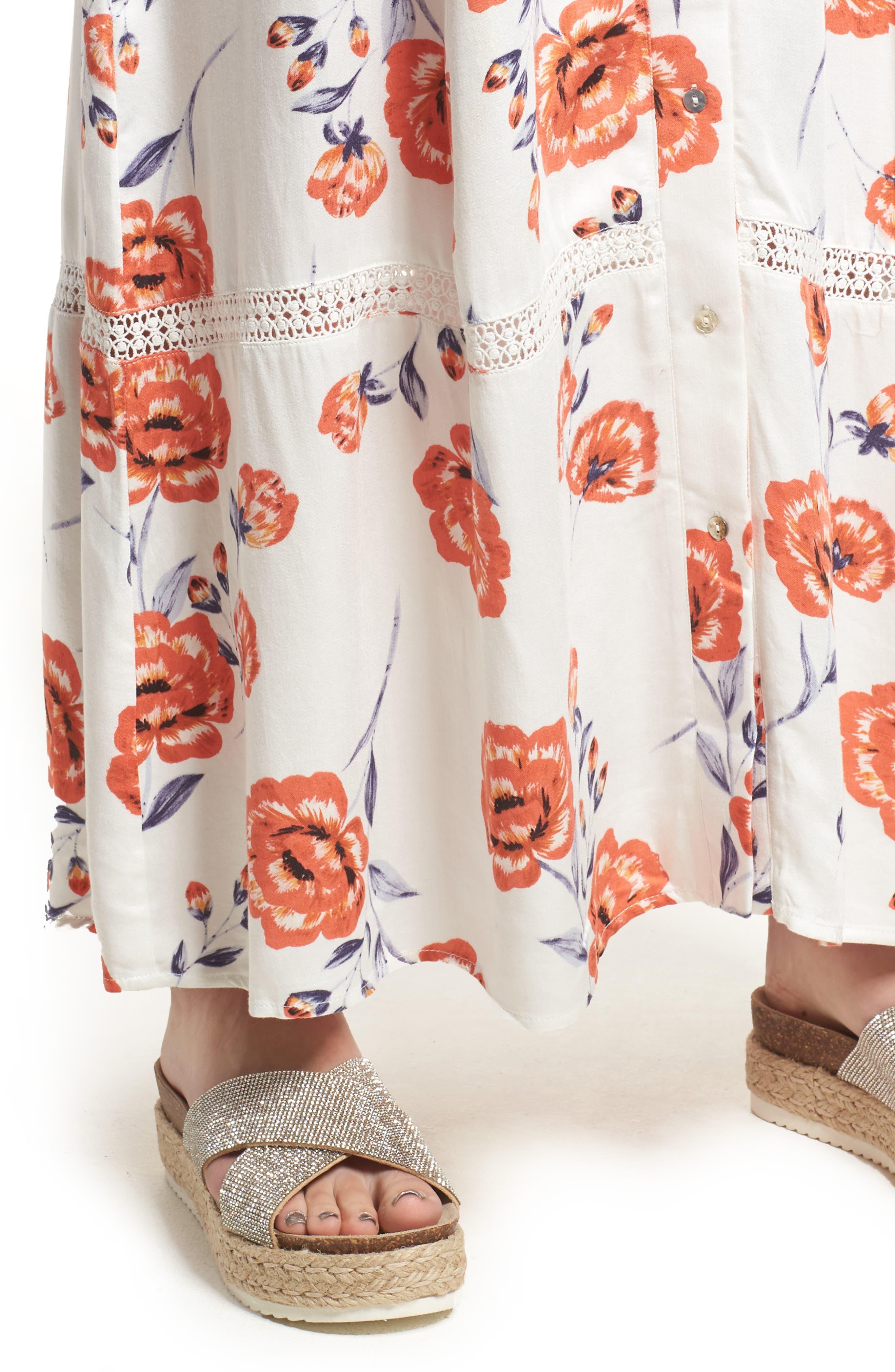 Sweet Surrender Maxi Dress,                             Alternate thumbnail 4, color,                             Multi