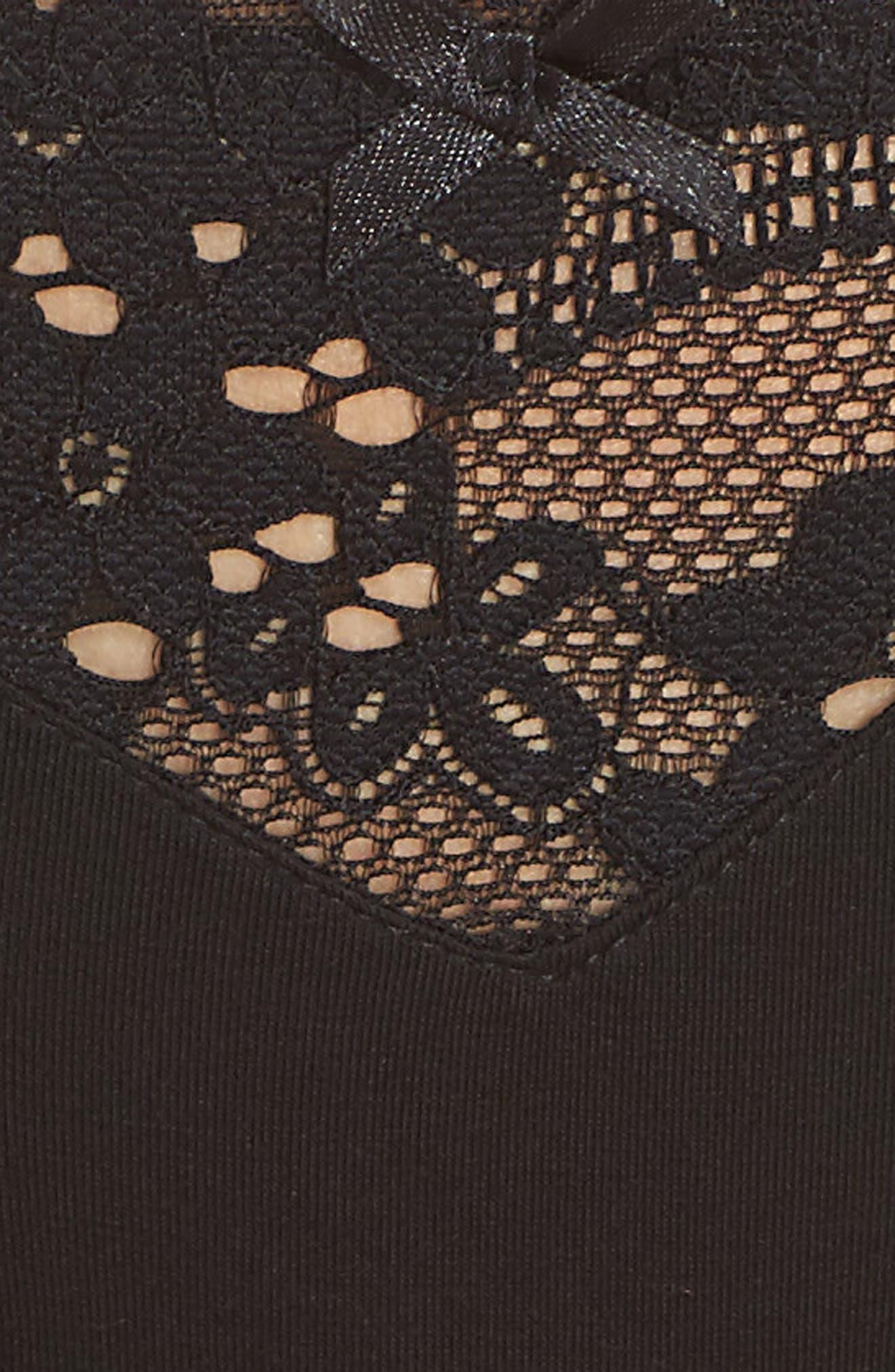 Willow Bikini,                             Alternate thumbnail 6, color,                             Black