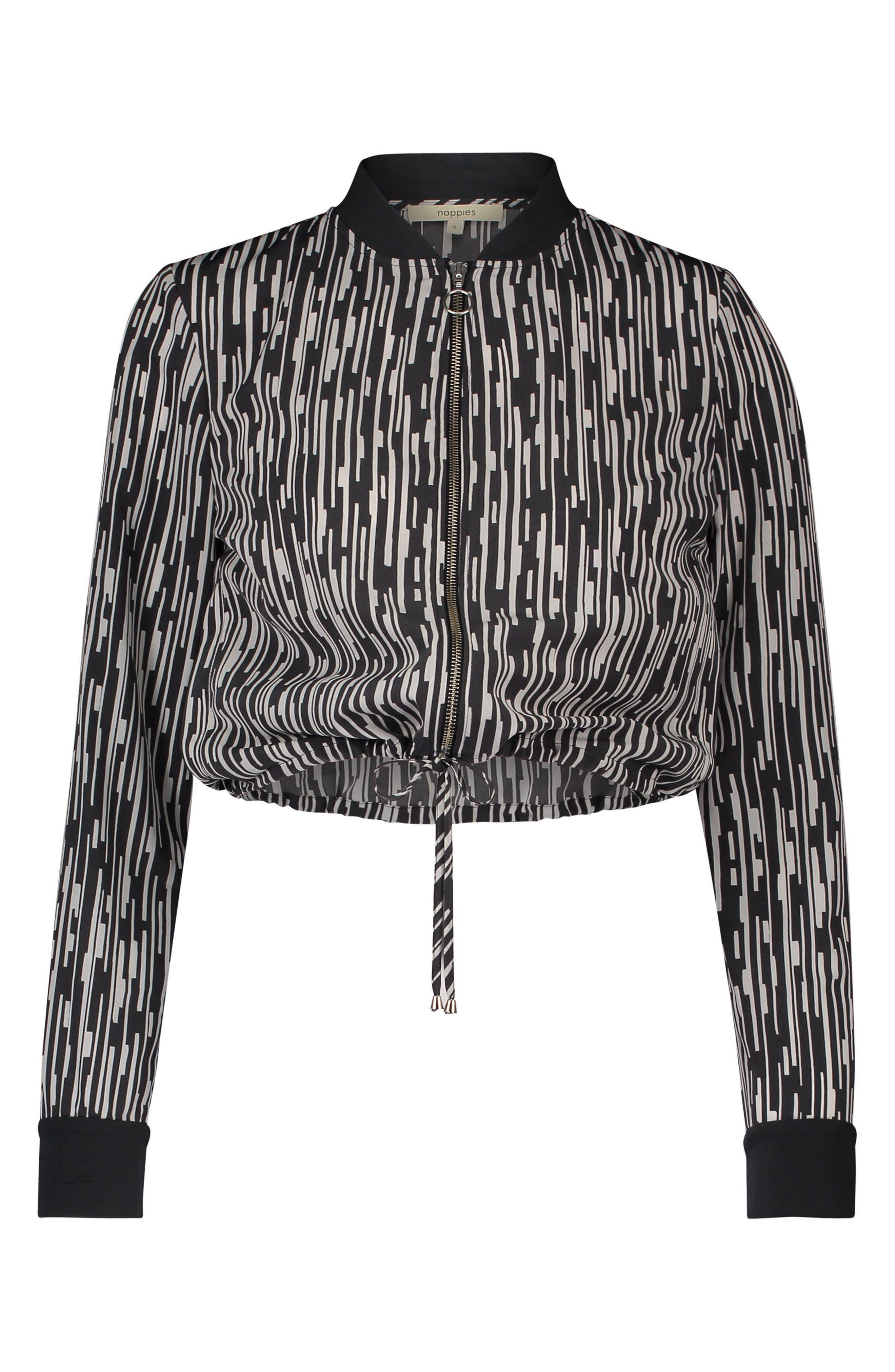 Aimee Crop Maternity/Nursing Jacket,                         Main,                         color, Dark Grey
