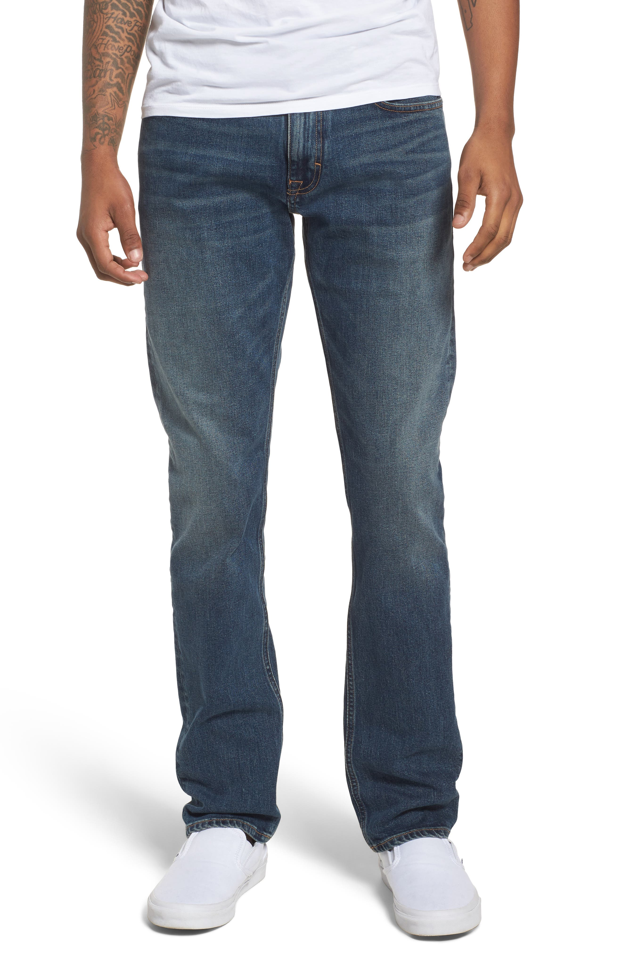 Slim Jeans,                             Main thumbnail 1, color,                             Fred Blue