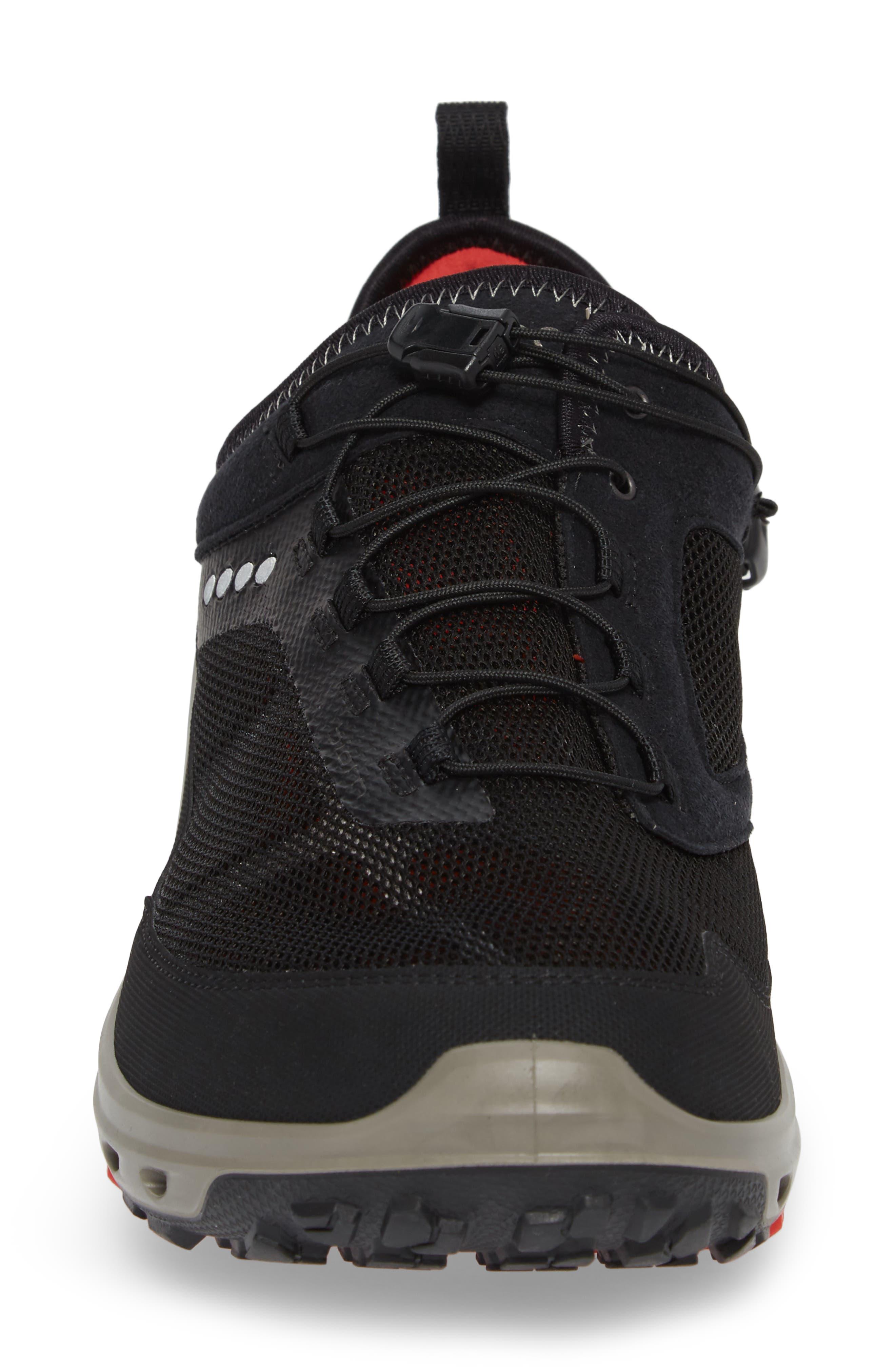 Biom Venture Sneaker,                             Alternate thumbnail 4, color,                             Black Leather