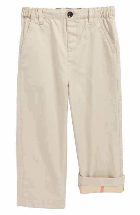 e2195209eb62c Burberry Ricky Check Lined Pants (Baby Boys   Toddler Boys)