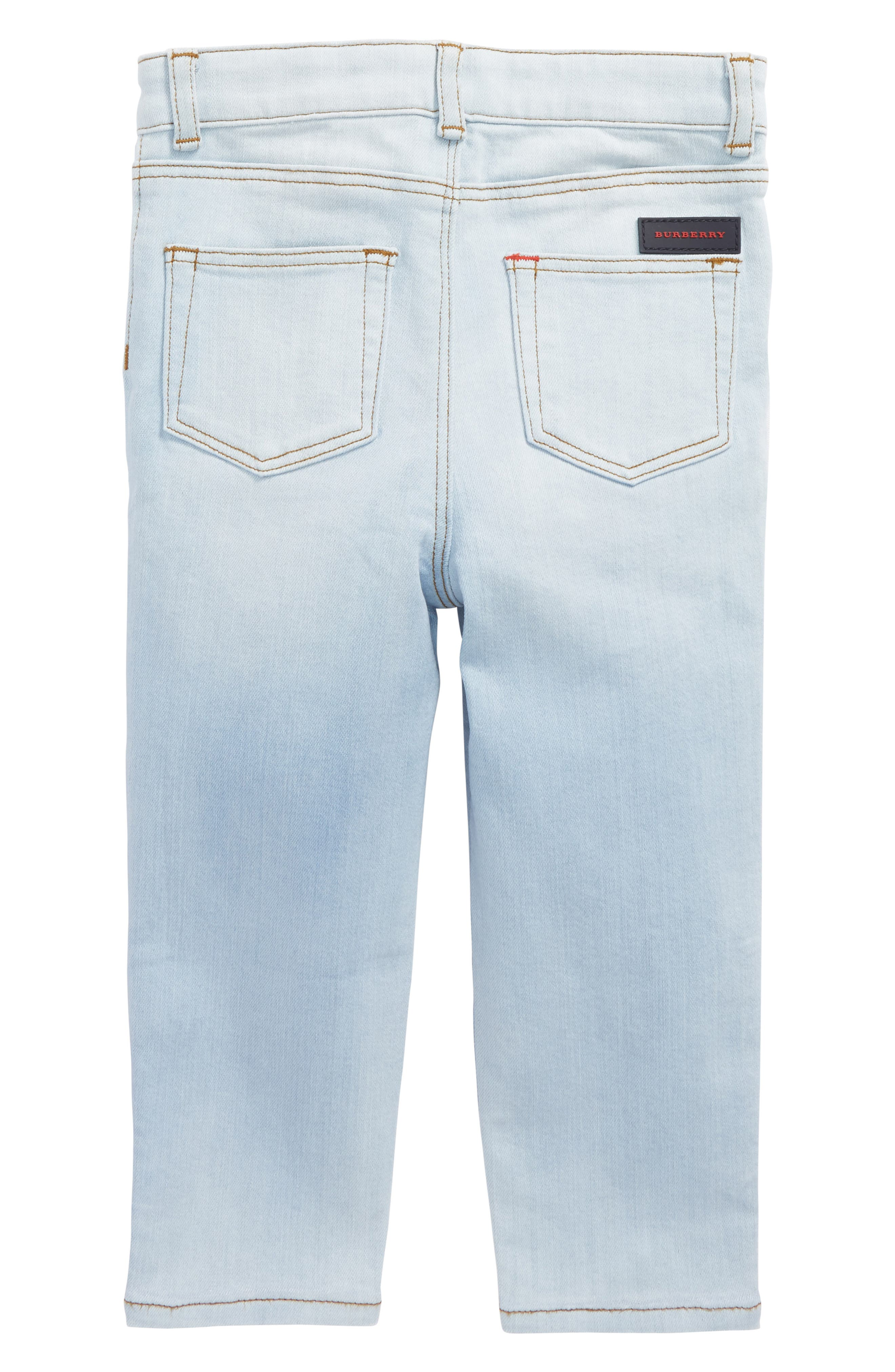 Alternate Image 2  - Burberry Skinny Jeans (Baby Boys & Toddler Boys)