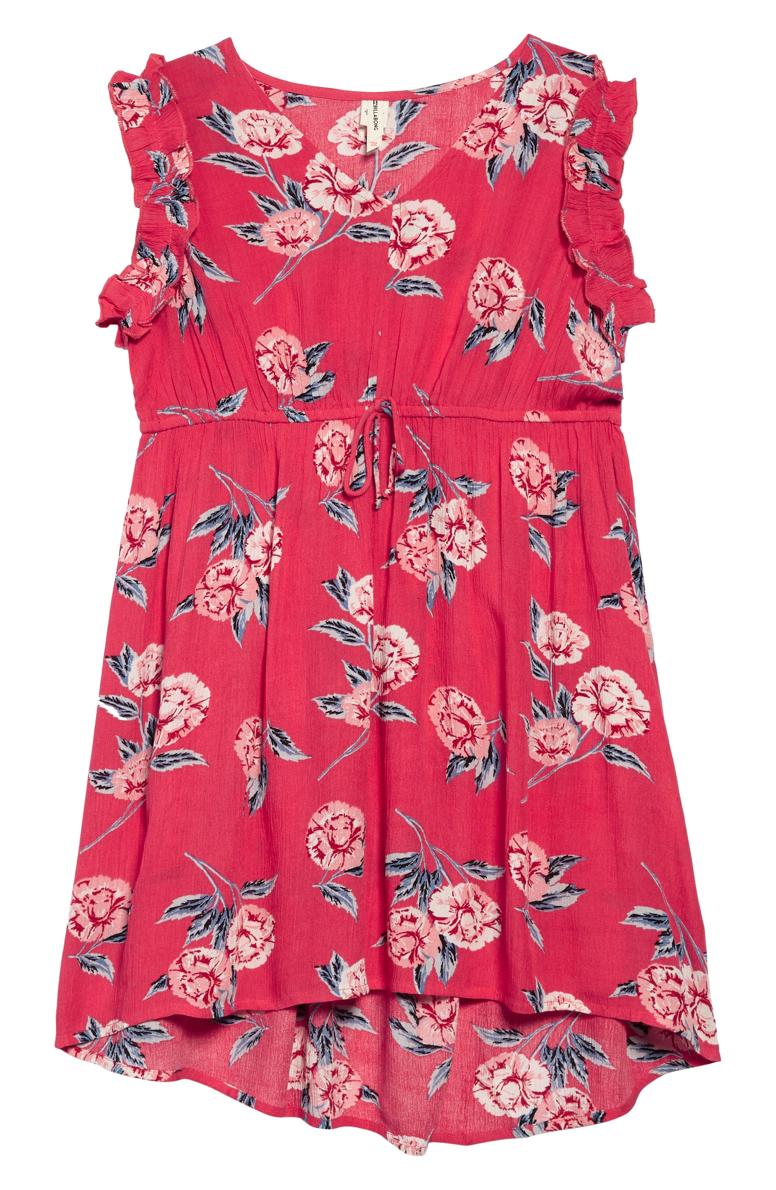 Alternate Image 1 Selected - Billabong Singin' Songs Dress (Little Girls & Big Girls)