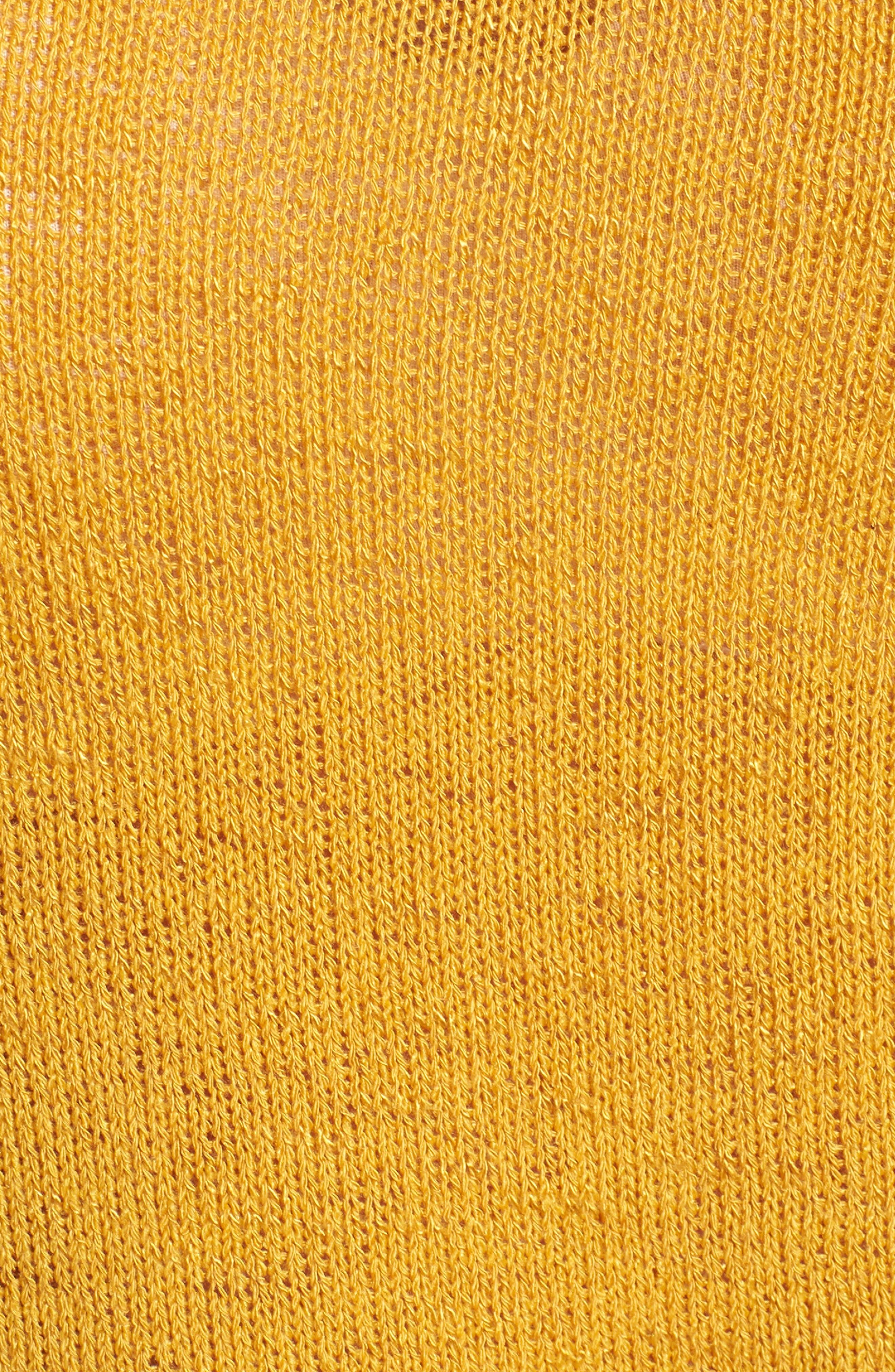 Heat Rising Crop Camisole,                             Alternate thumbnail 7, color,                             Saffron