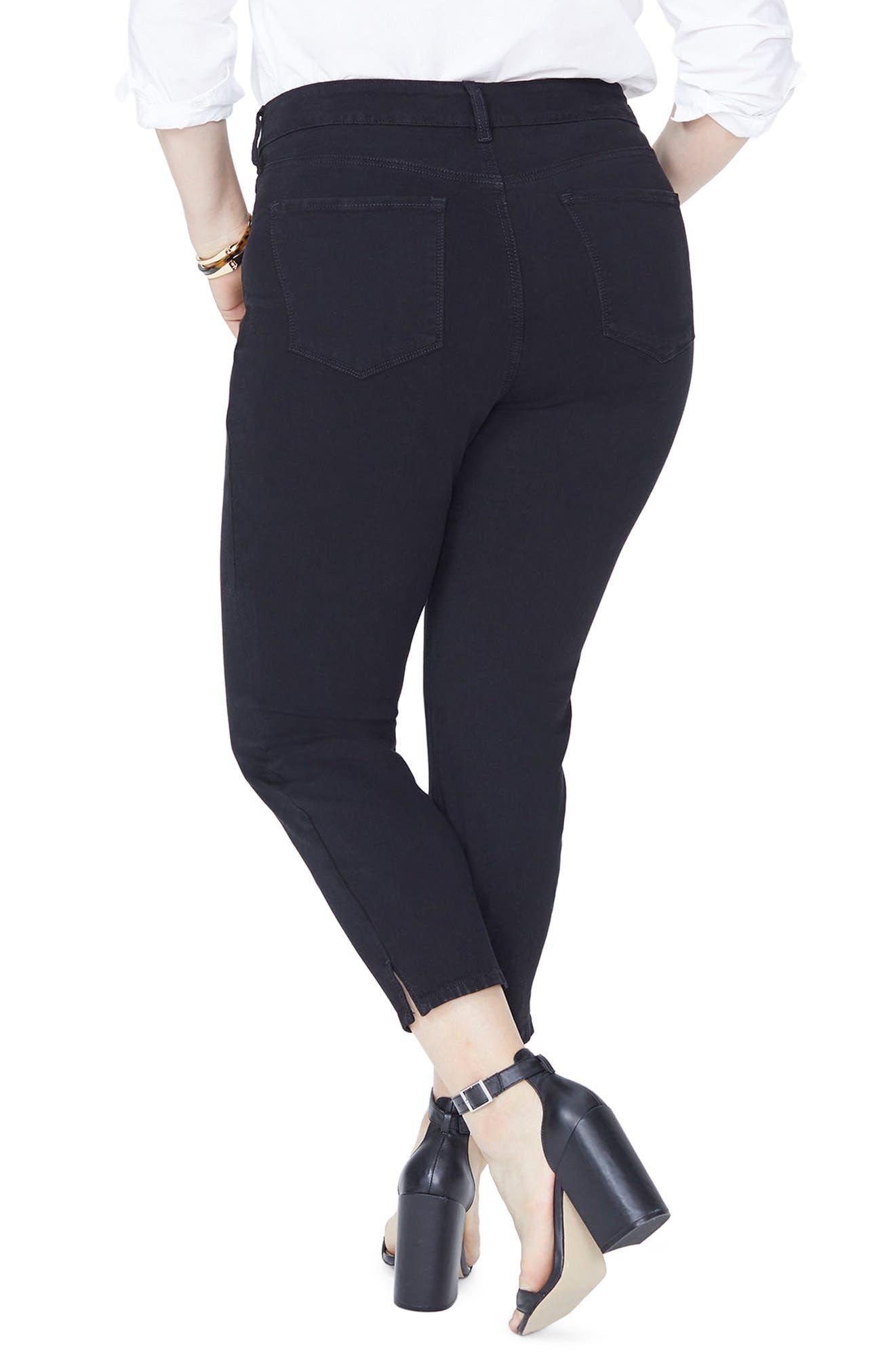 Ami Ankle Skinny Jeans,                             Alternate thumbnail 2, color,                             Black