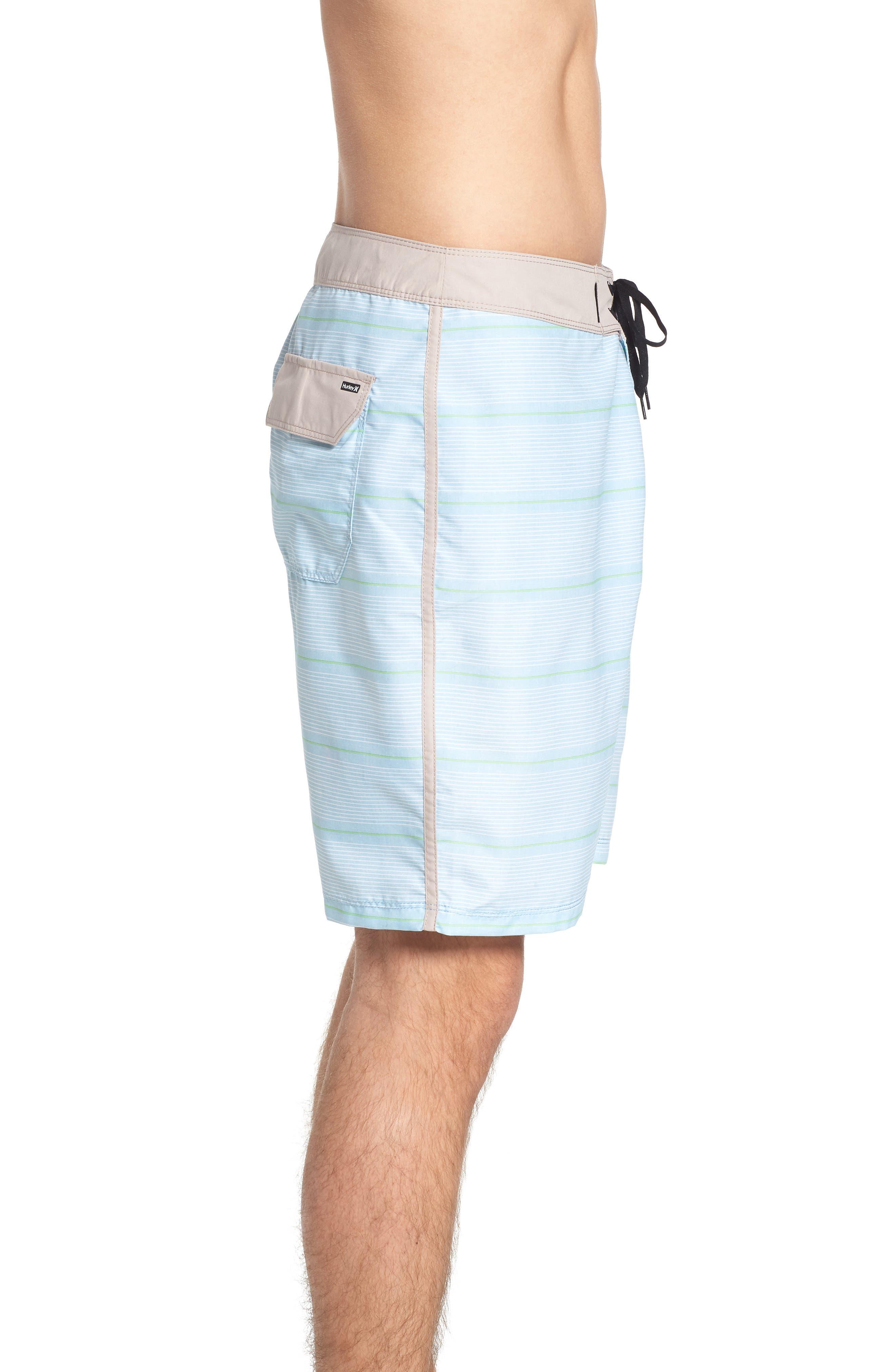 Shoreside Board Shorts,                             Alternate thumbnail 3, color,                             Ocean Bliss