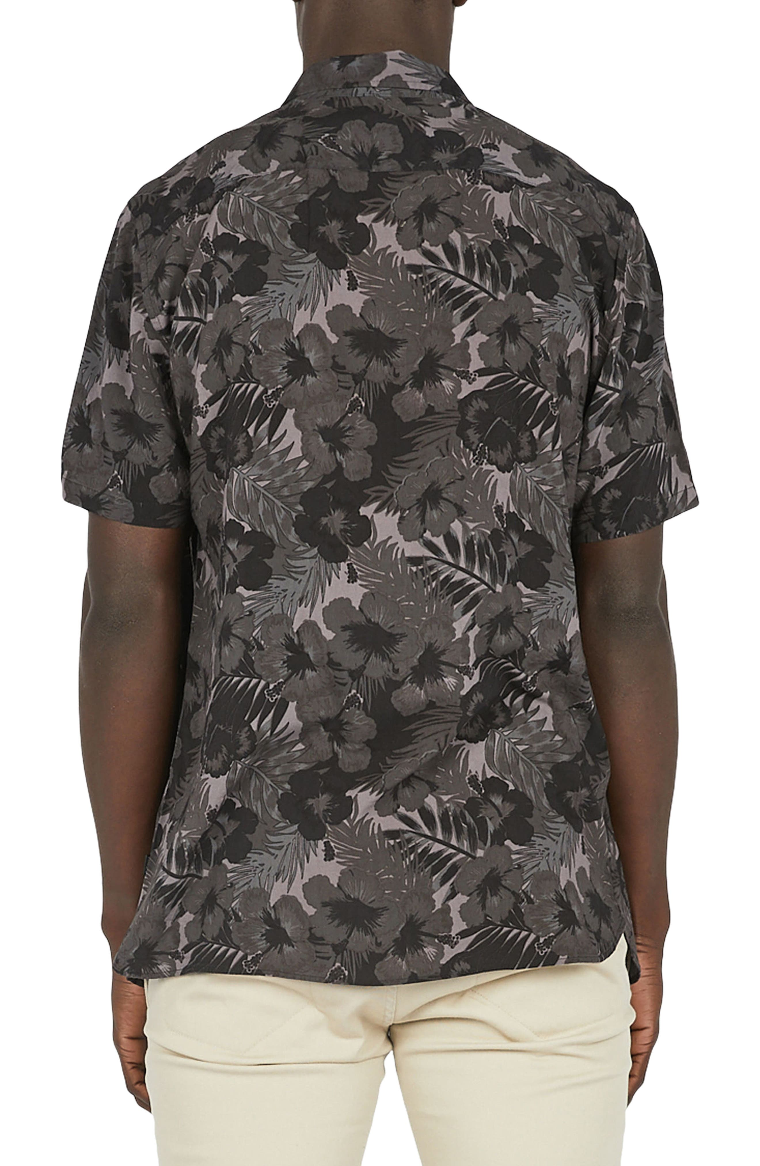 Alternate Image 2  - Barney Cools Holiday Woven Shirt
