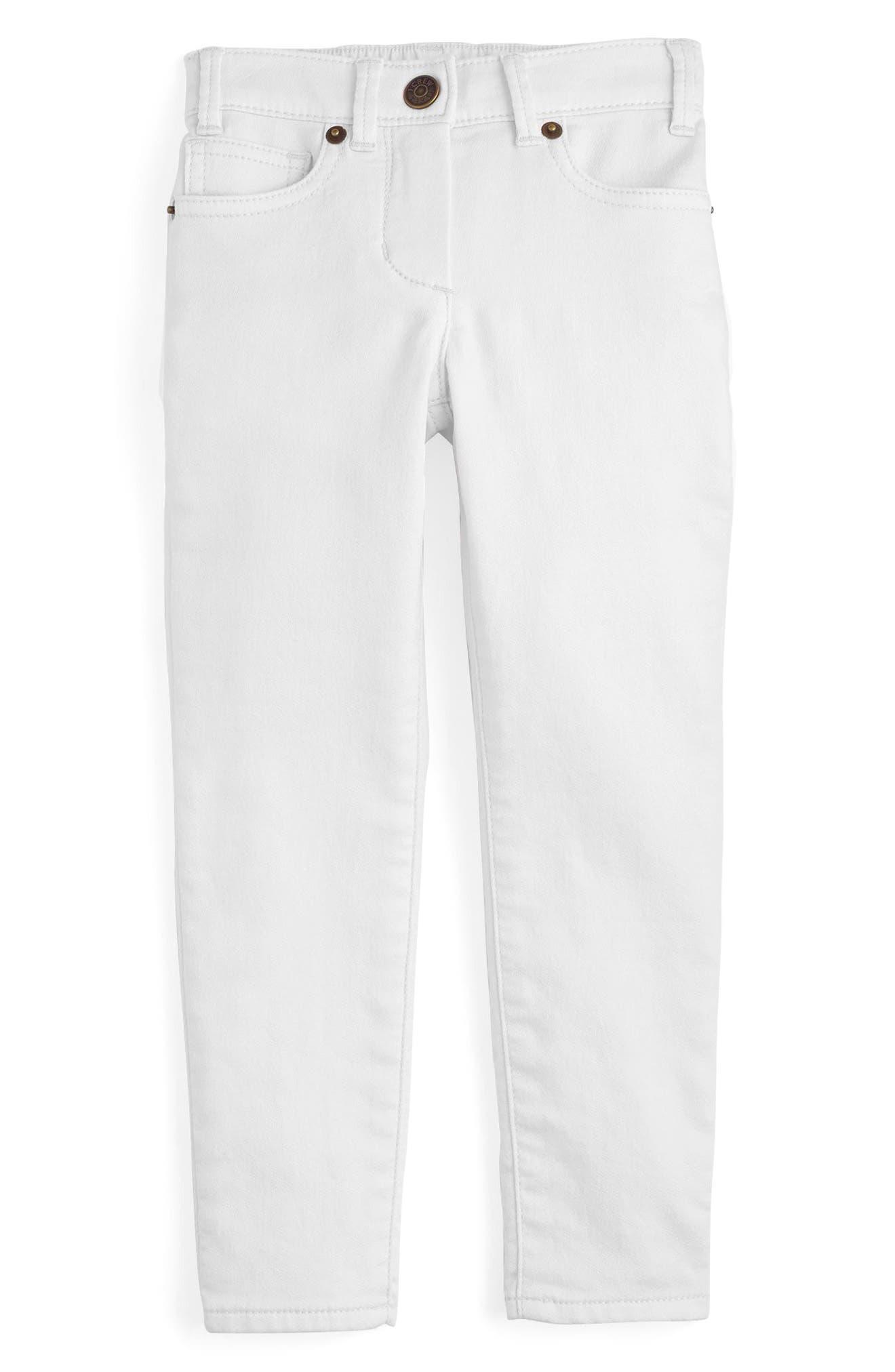Runaround Garment Dye Jeans,                             Main thumbnail 1, color,                             White