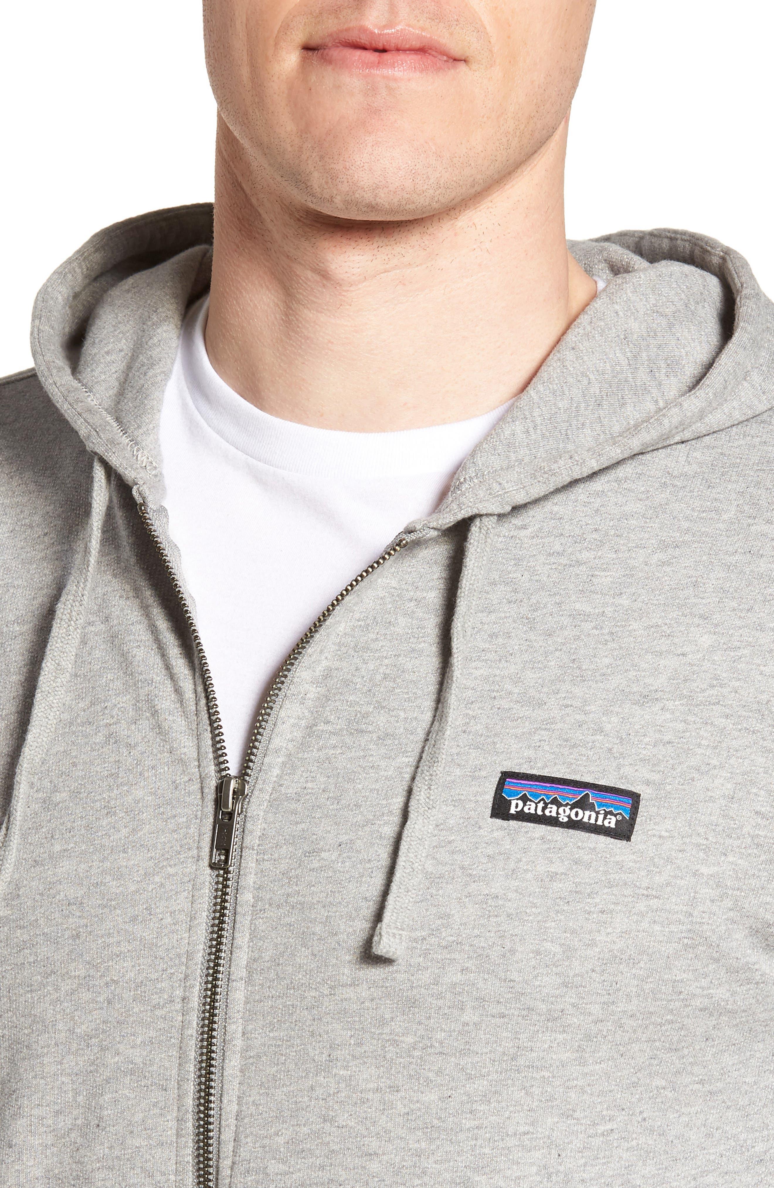 Alternate Image 4  - Patagonia M's P-6 Logo Full Zip Hoodie