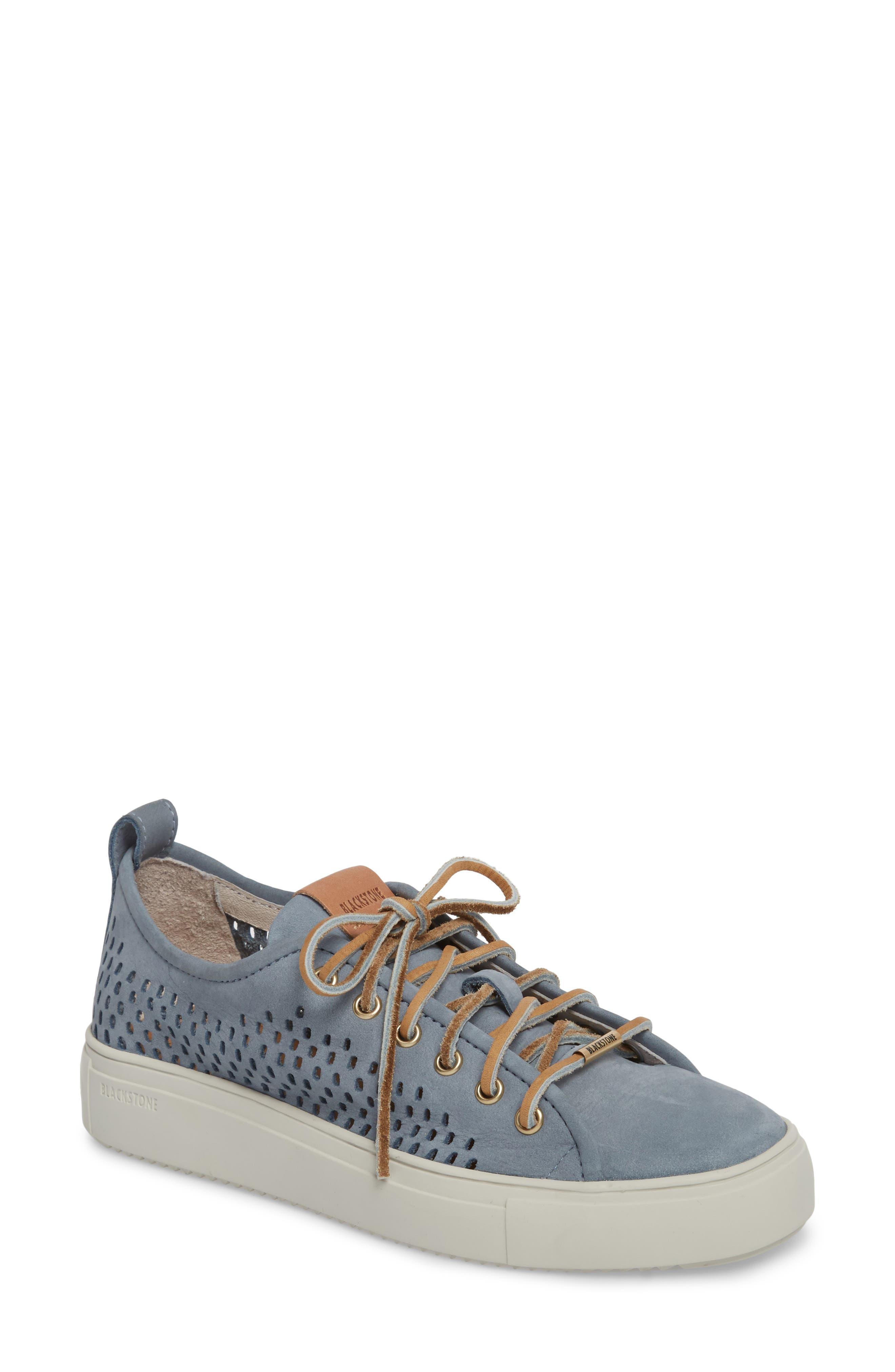 PL87 Sneaker,                         Main,                         color, Winter Sky Leather
