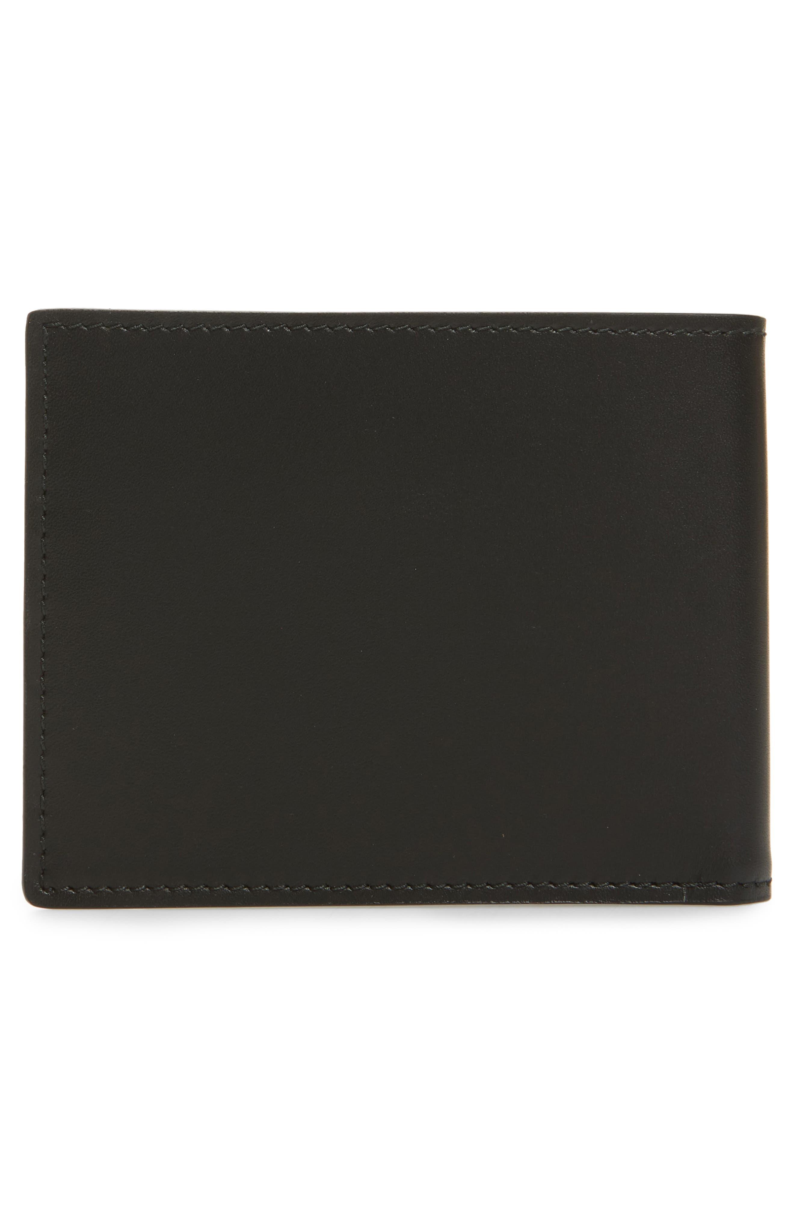 Alternate Image 3  - Salvatore Ferragamo Calfskin Leather Bifold Card Case